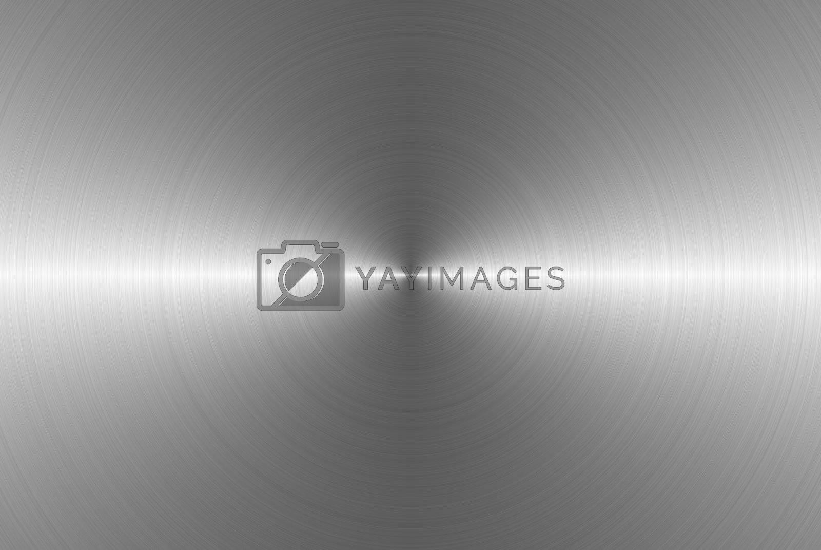 circular metal texture
