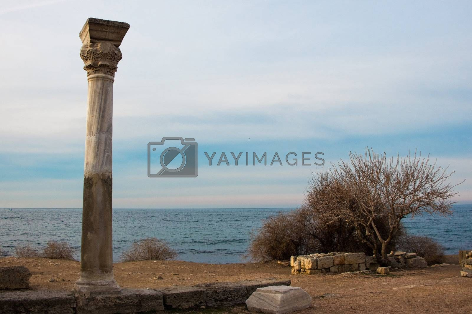 Chersonesos ruins by 4iffa