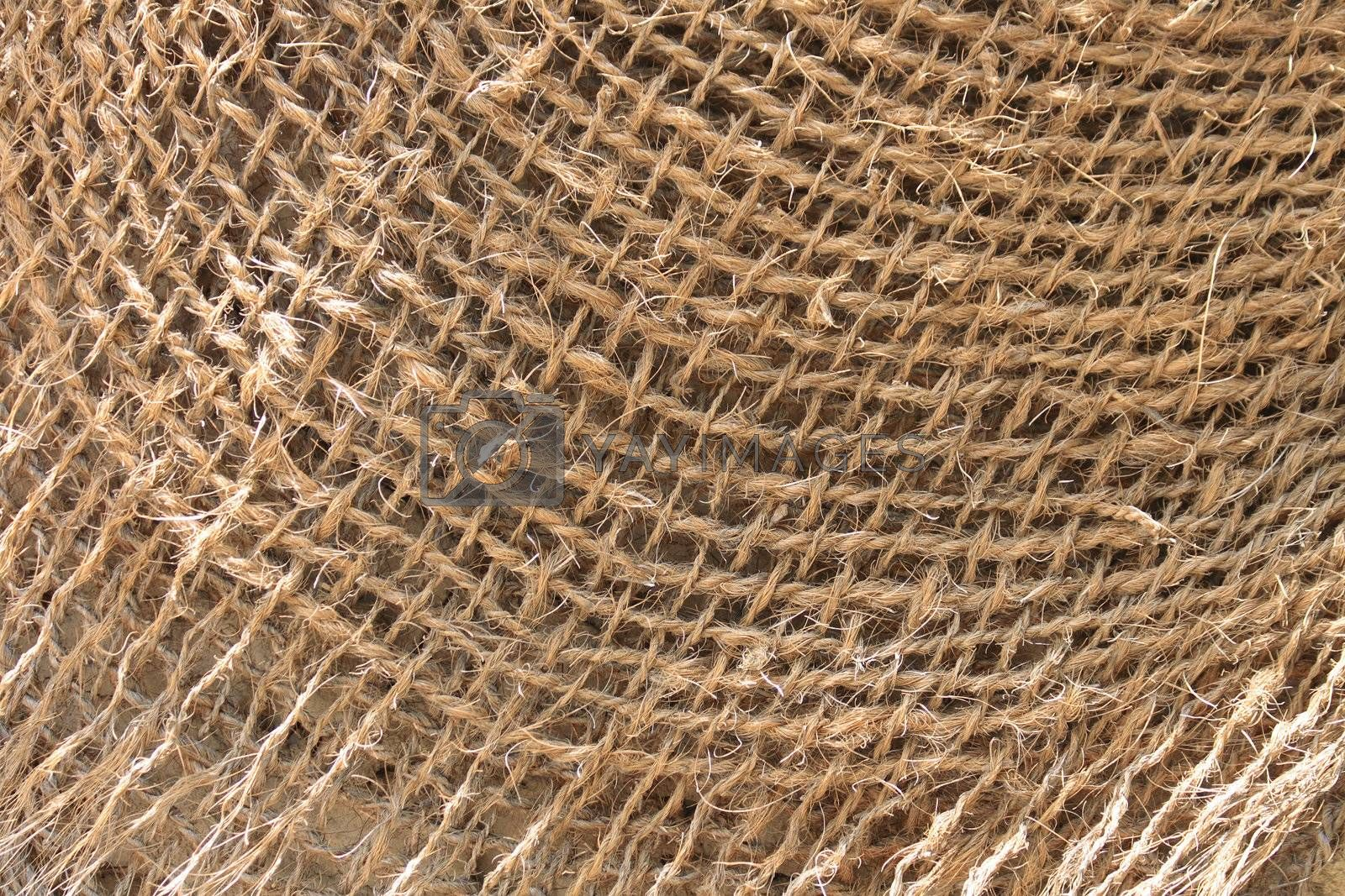 nice natural textile background as brown texture