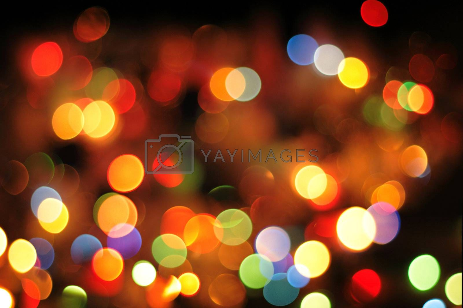 christmas background from the nice color xmas lights