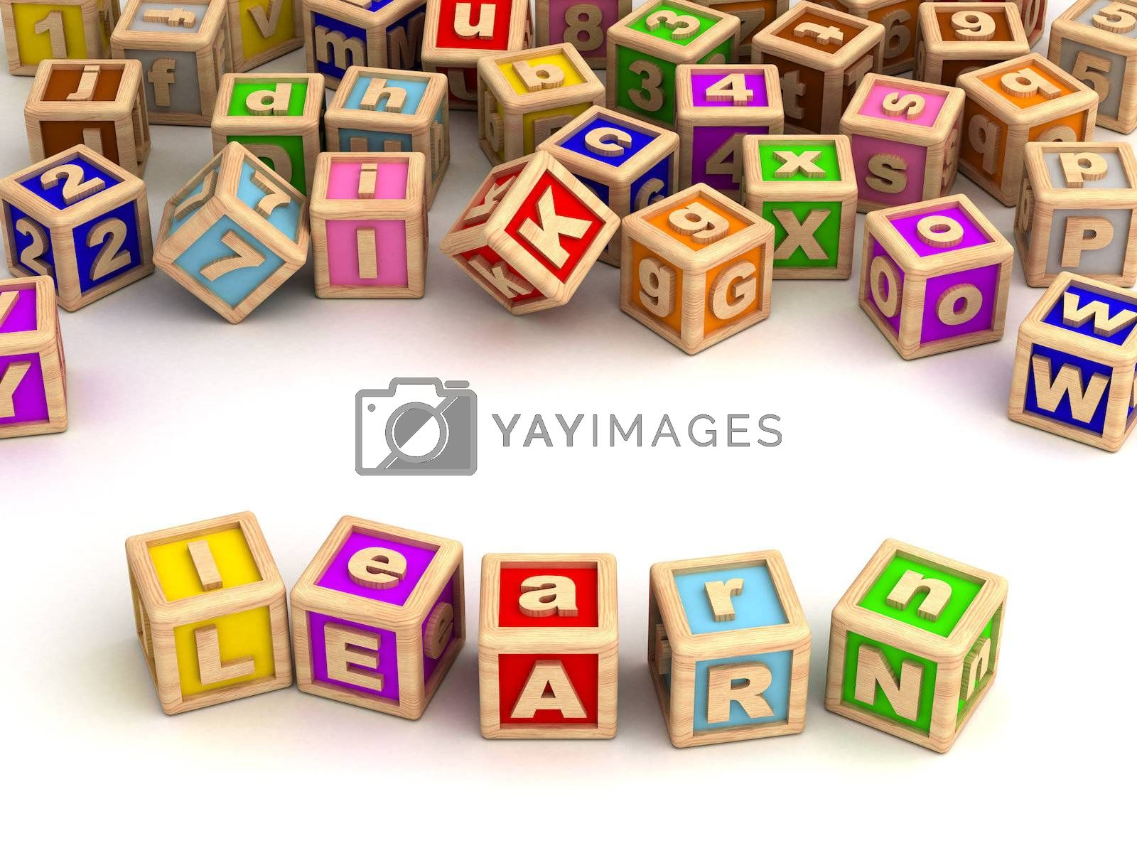 Learning with toy blocks