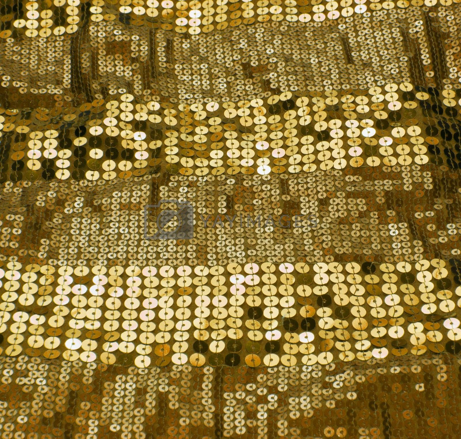 gold sequin background