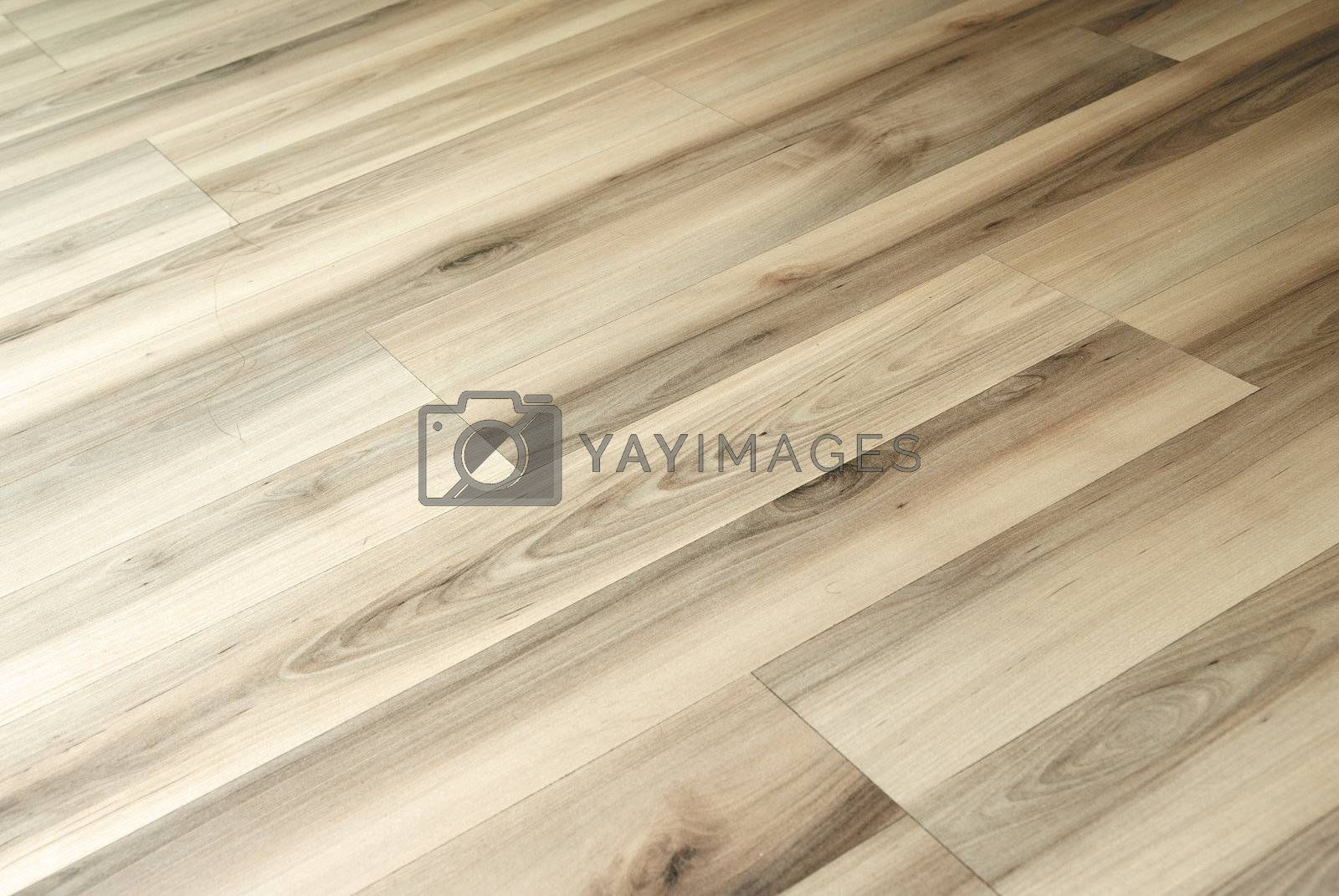 Close-up photo of the parquet floor pattern