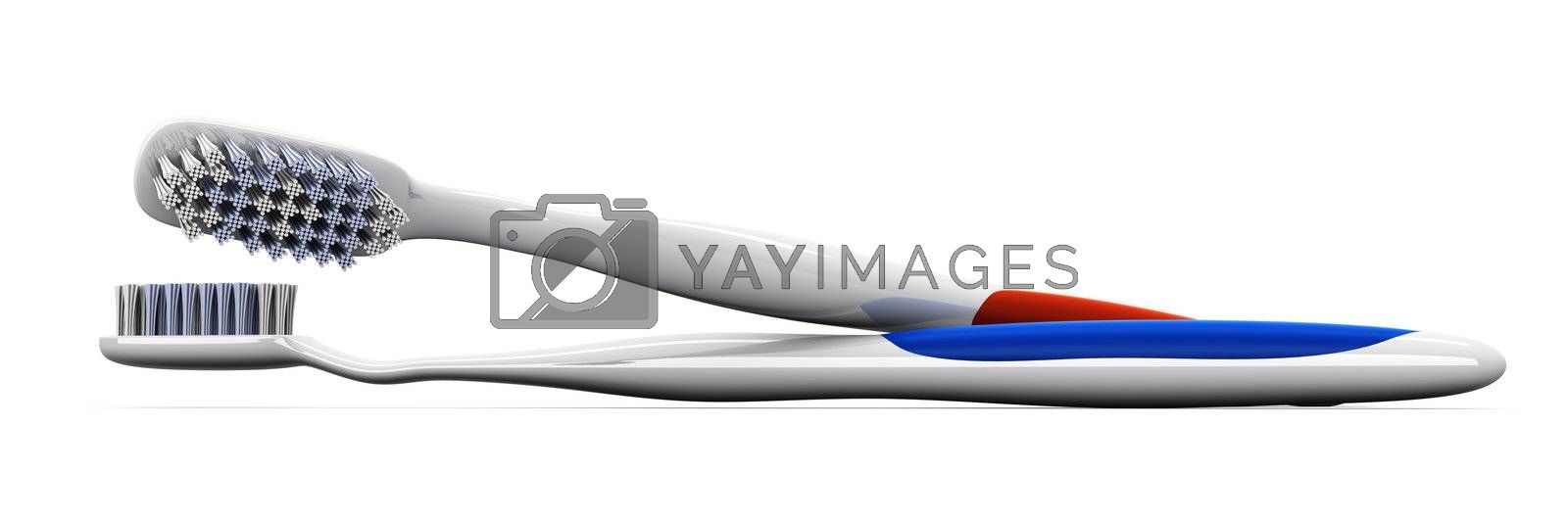 3D rendered Illustration. isolated on white.