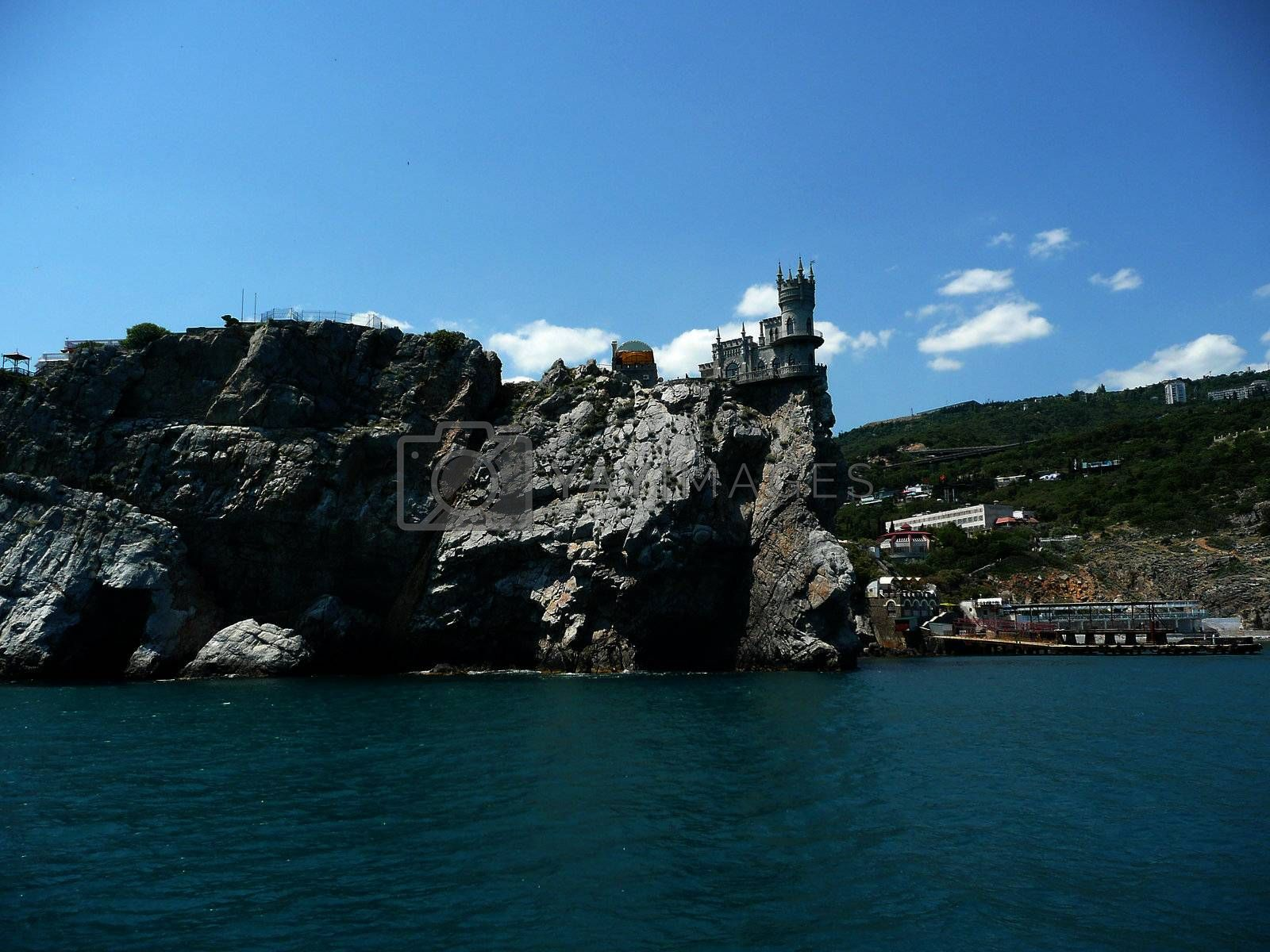 Swallow's Nest, Scenic Castle over the Black Sea, Yalta, Crimea, by Marco Rubino