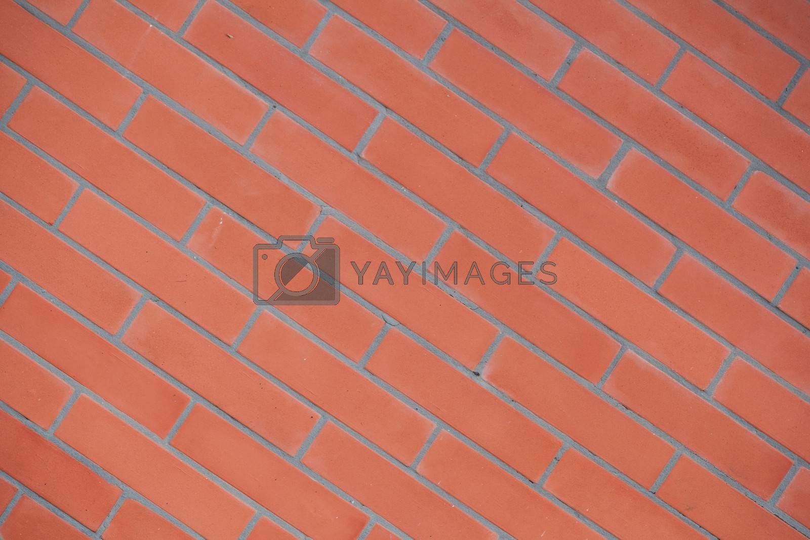 A close-up image of a brick wall texture background. Check out other textures in my portfolio.