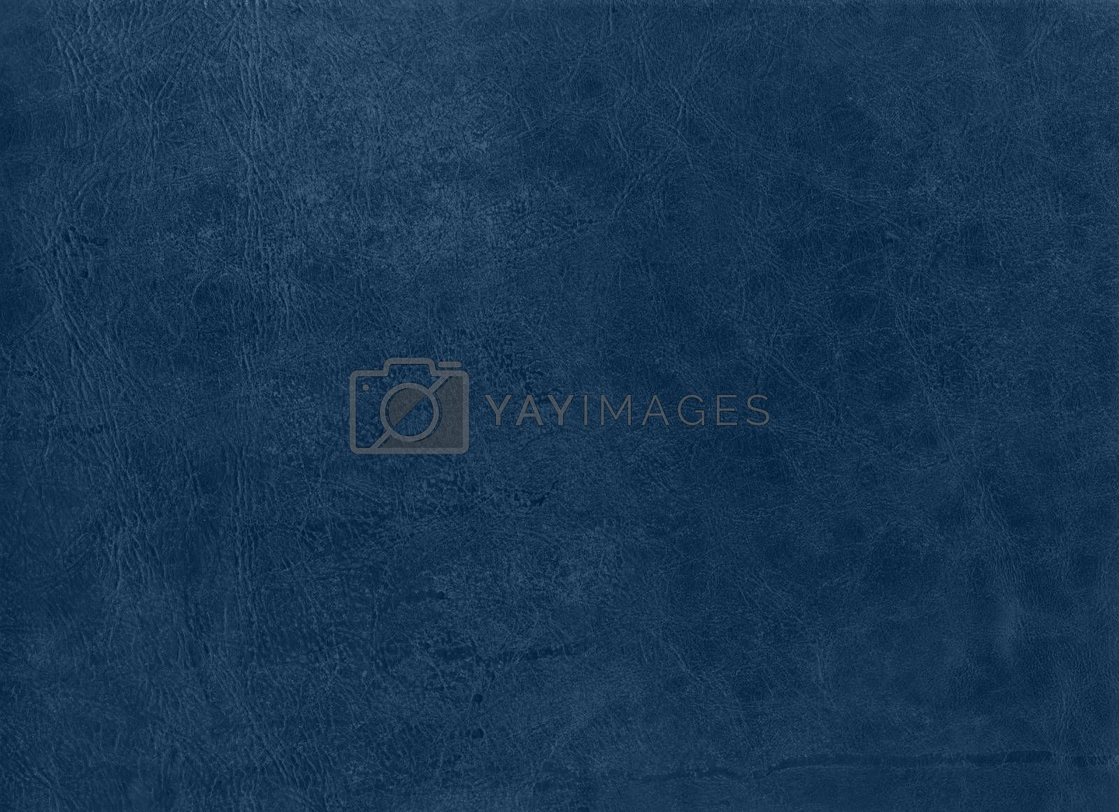 blue Leather vintage texture Background