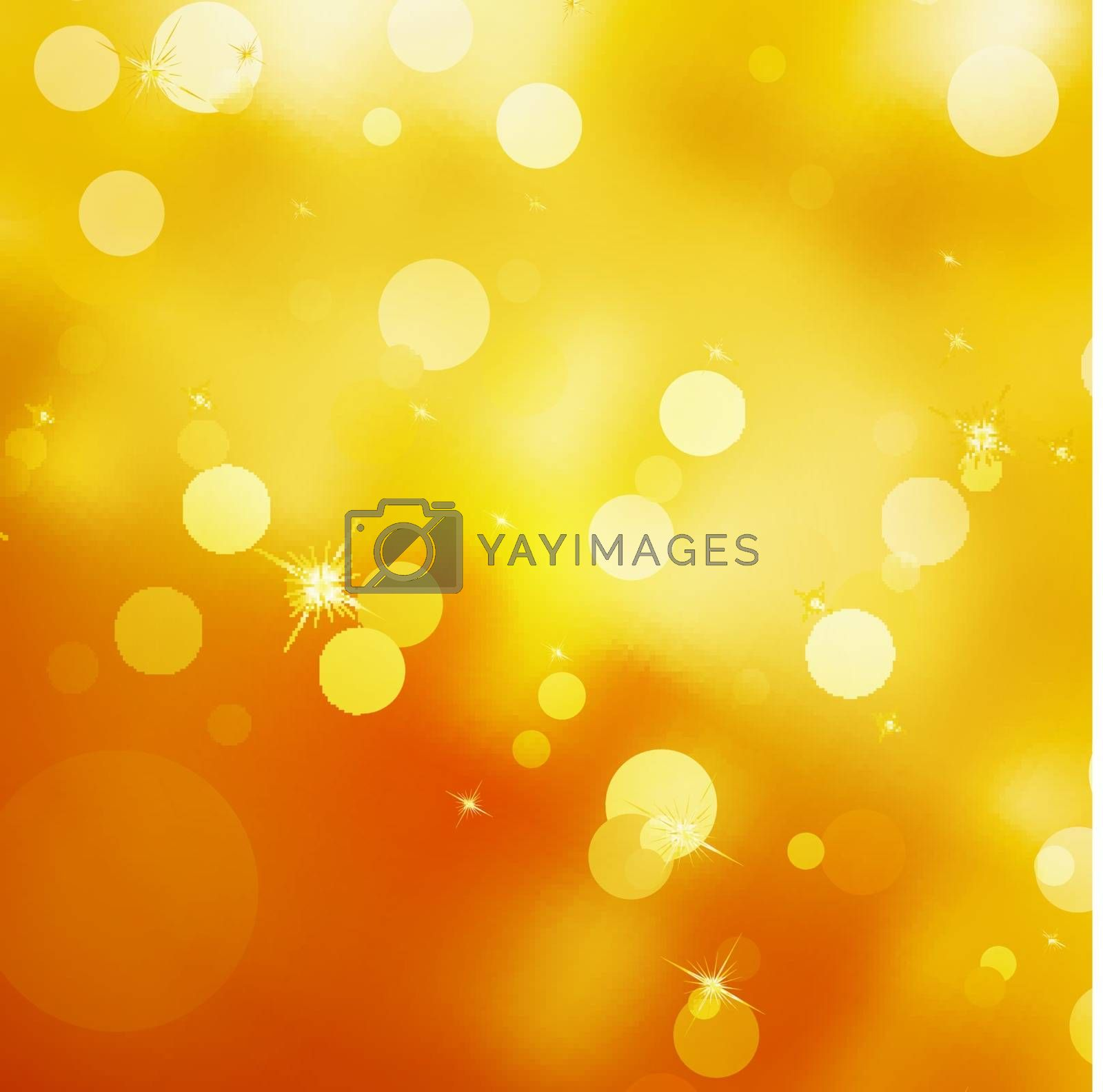 Royalty free image of Glittery gold Christmas background. EPS 10 by Petrov_Vladimir