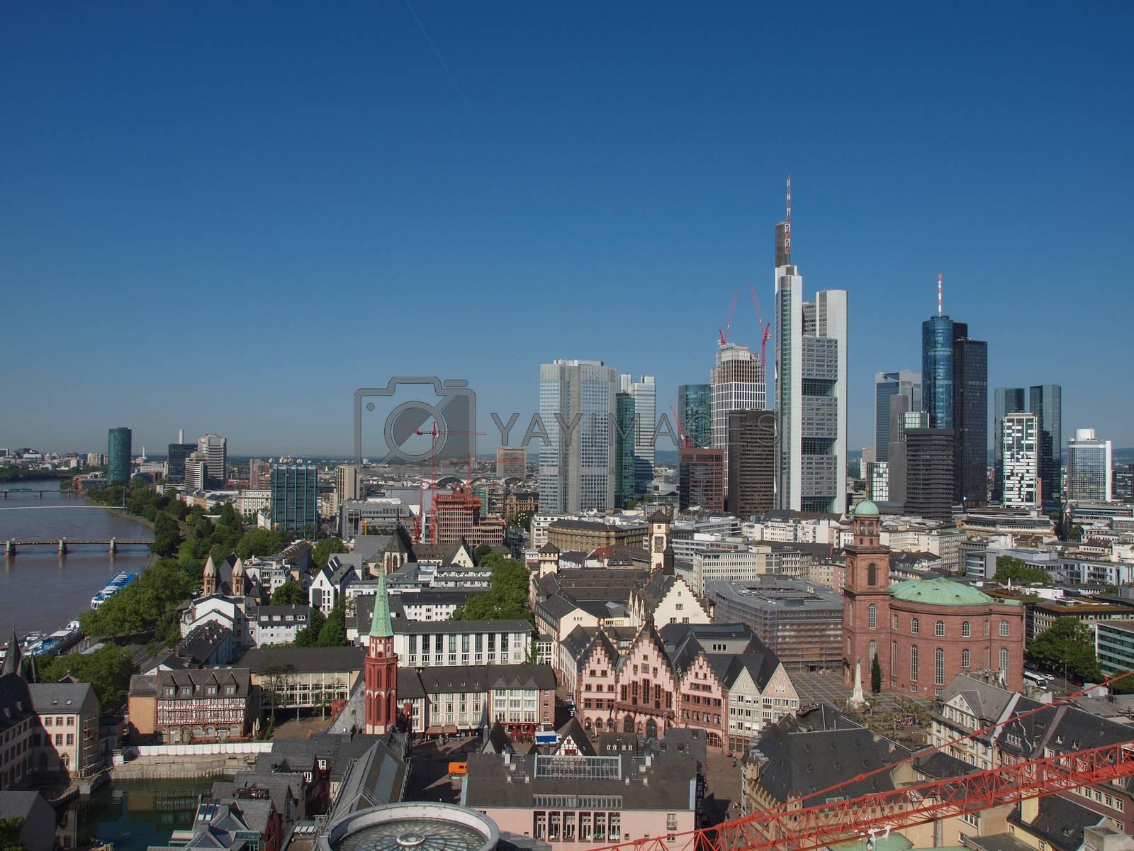 Royalty free image of Frankfurt am Main by claudiodivizia