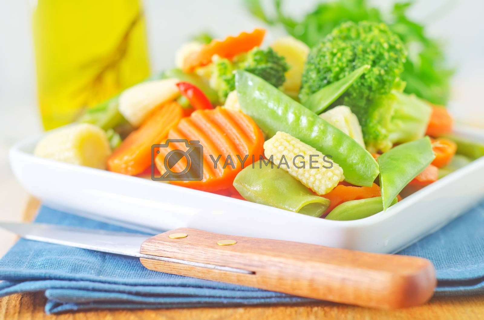 Royalty free image of vegetables by tycoon