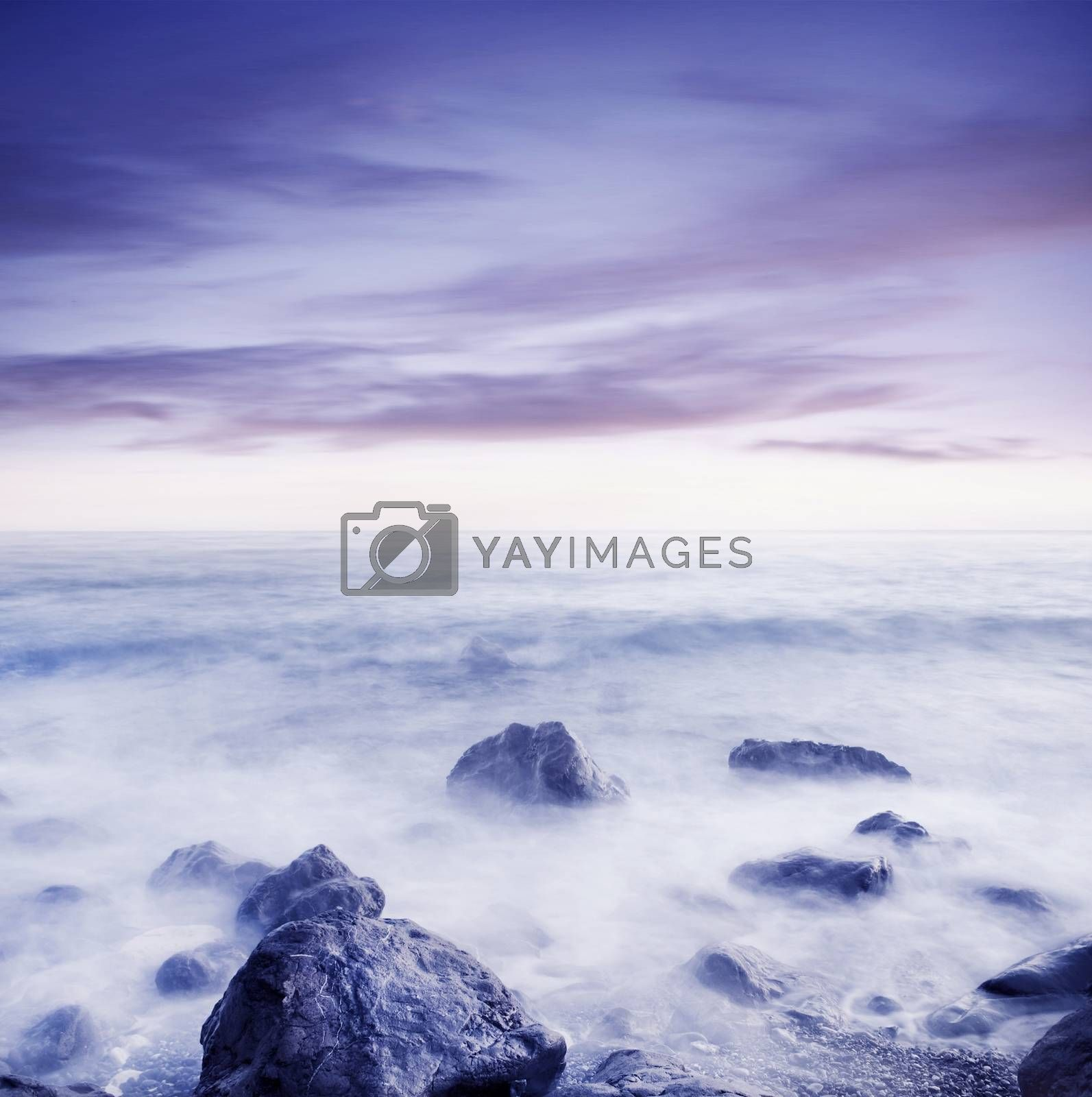 Royalty free image of sea coast by tycoon