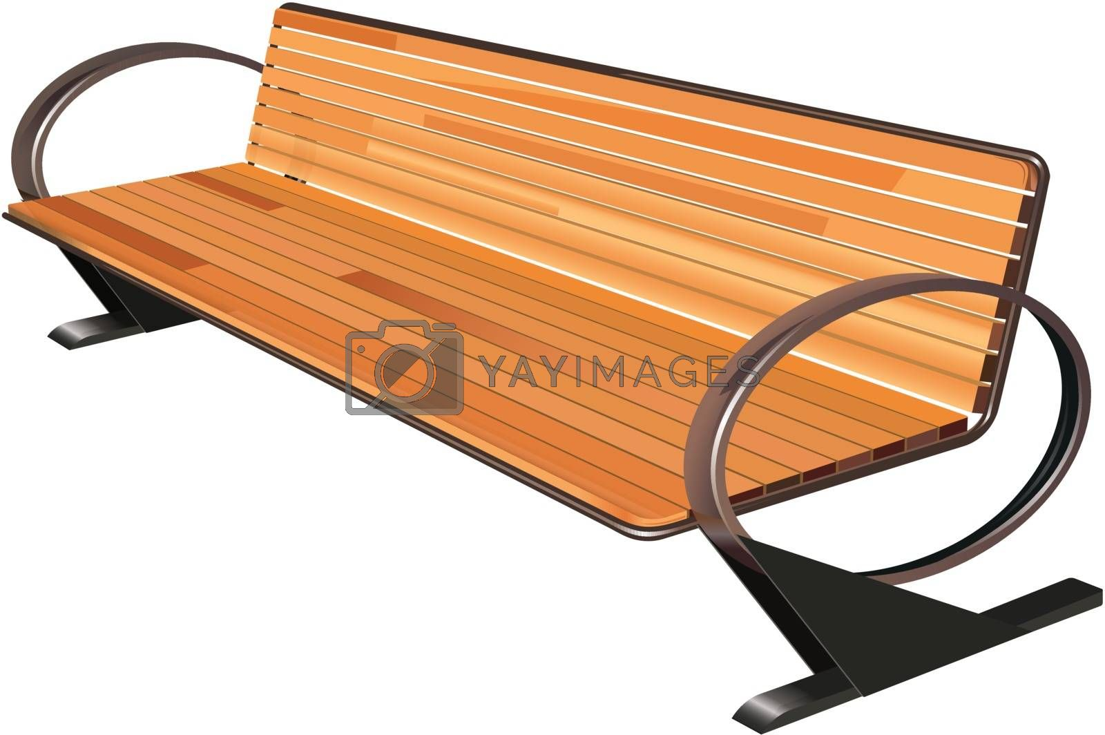 Royalty free image of bench by kovacevic