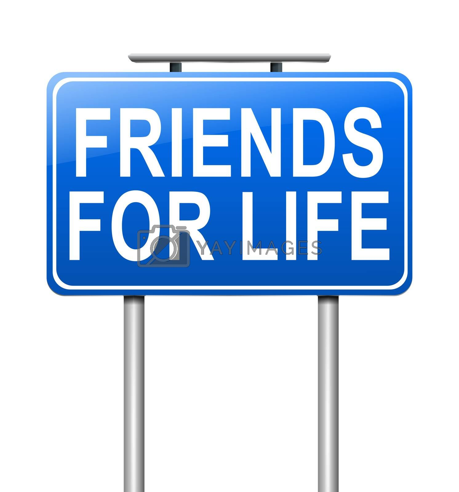 Royalty free image of Friends concept. by 72soul
