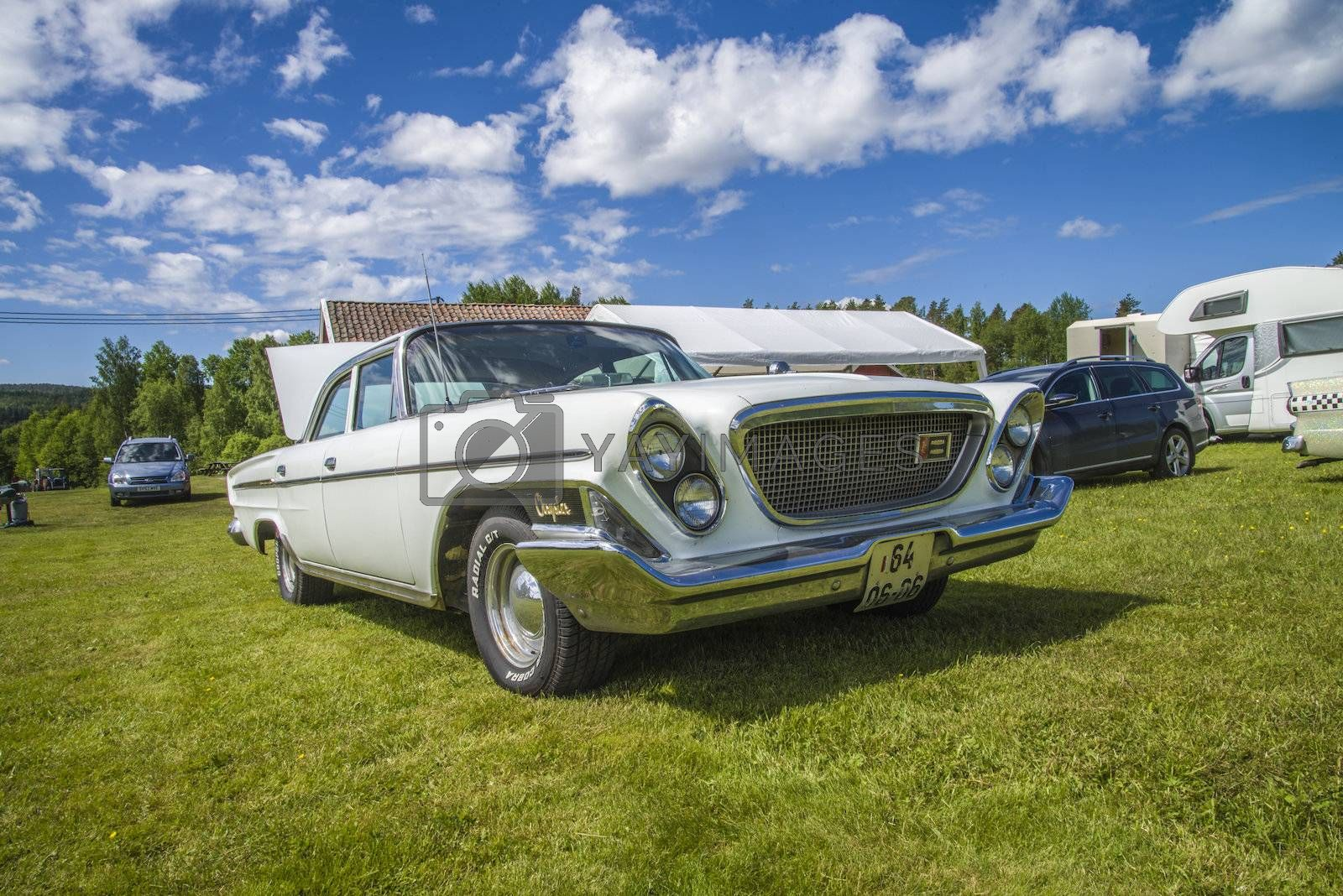 Royalty free image of classic amcar by steirus