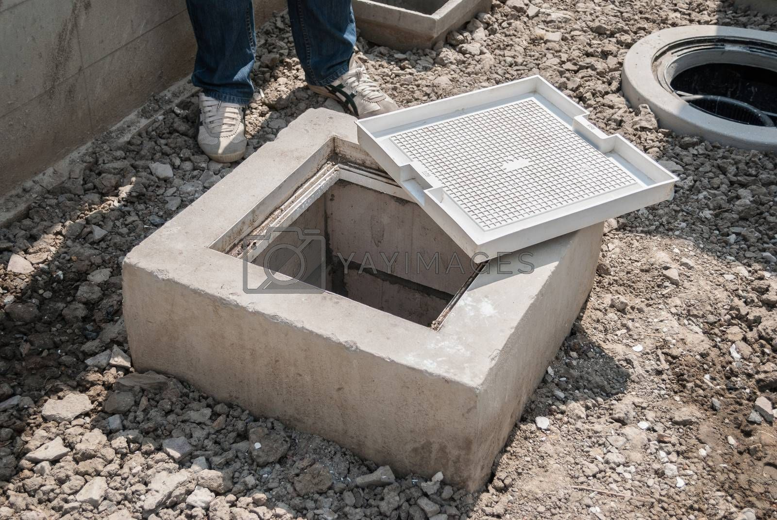 Royalty free image of Grease trap by finallast