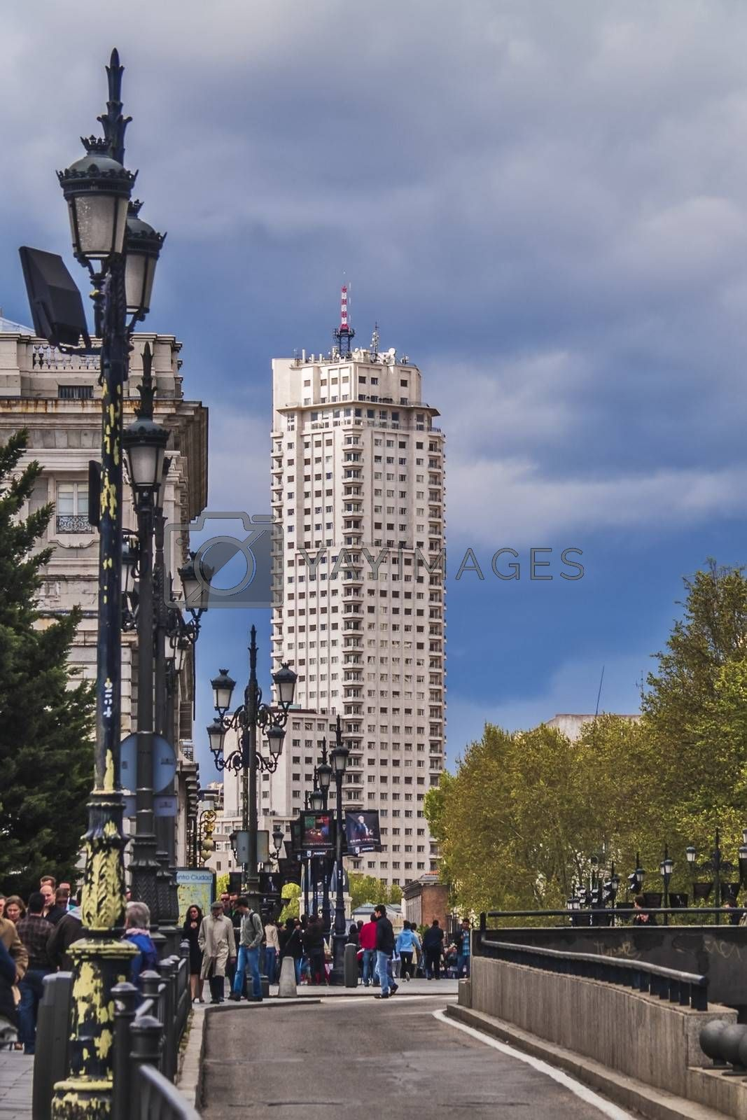 Royalty free image of Madrid Tower by fxegs