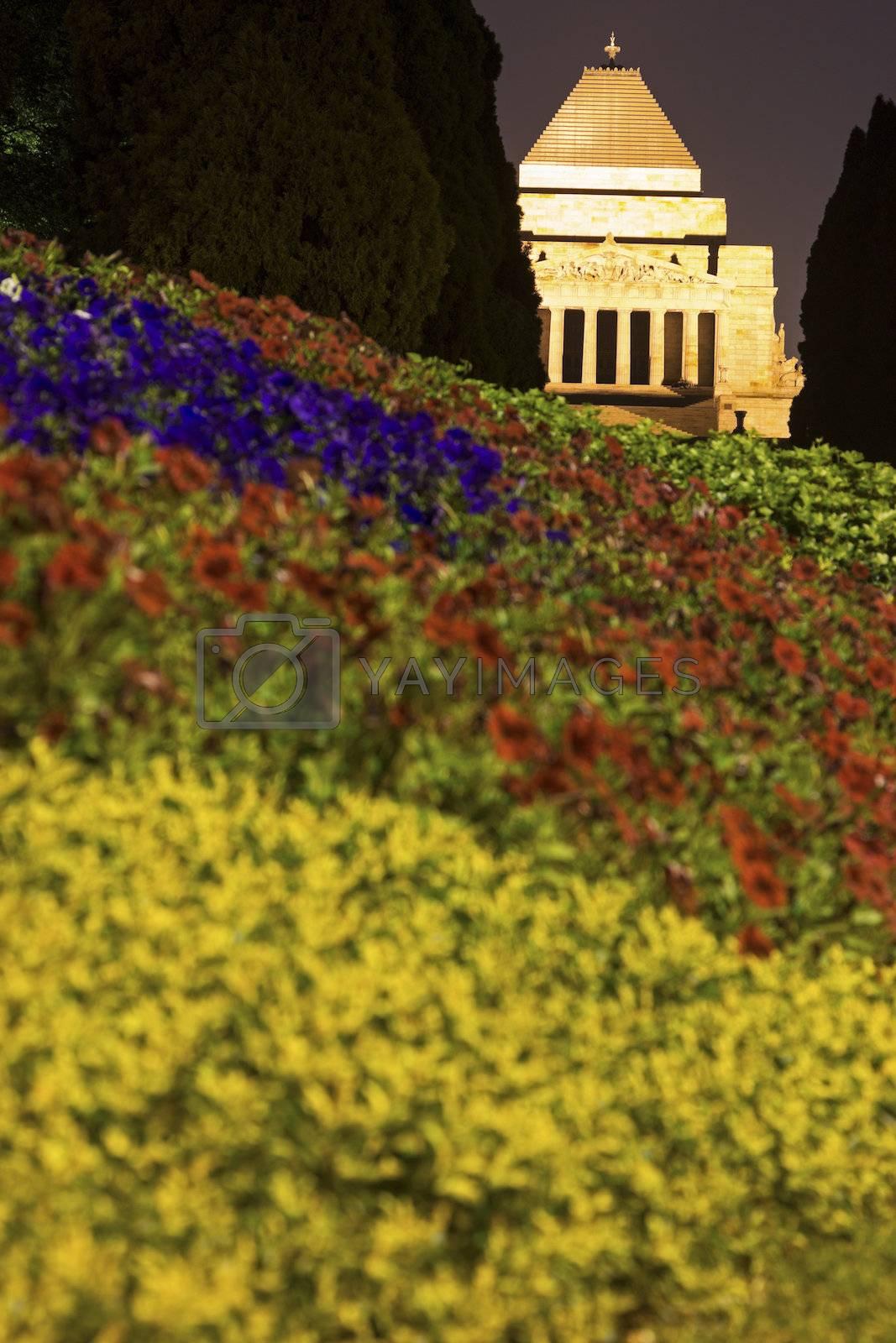 Royalty free image of Melbourne War Memorial by benkrut