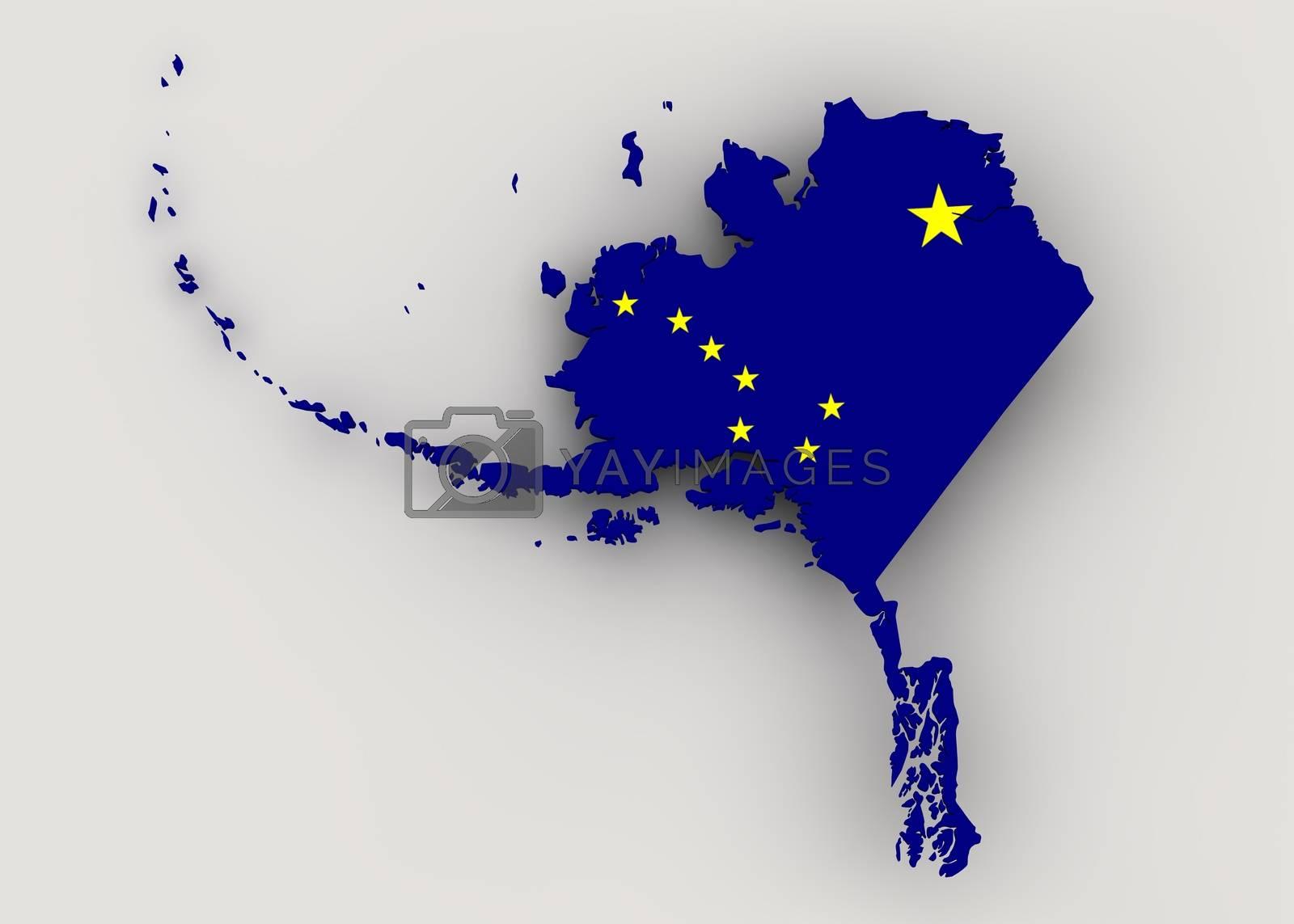 Royalty free image of Alaska by 3DAgentur