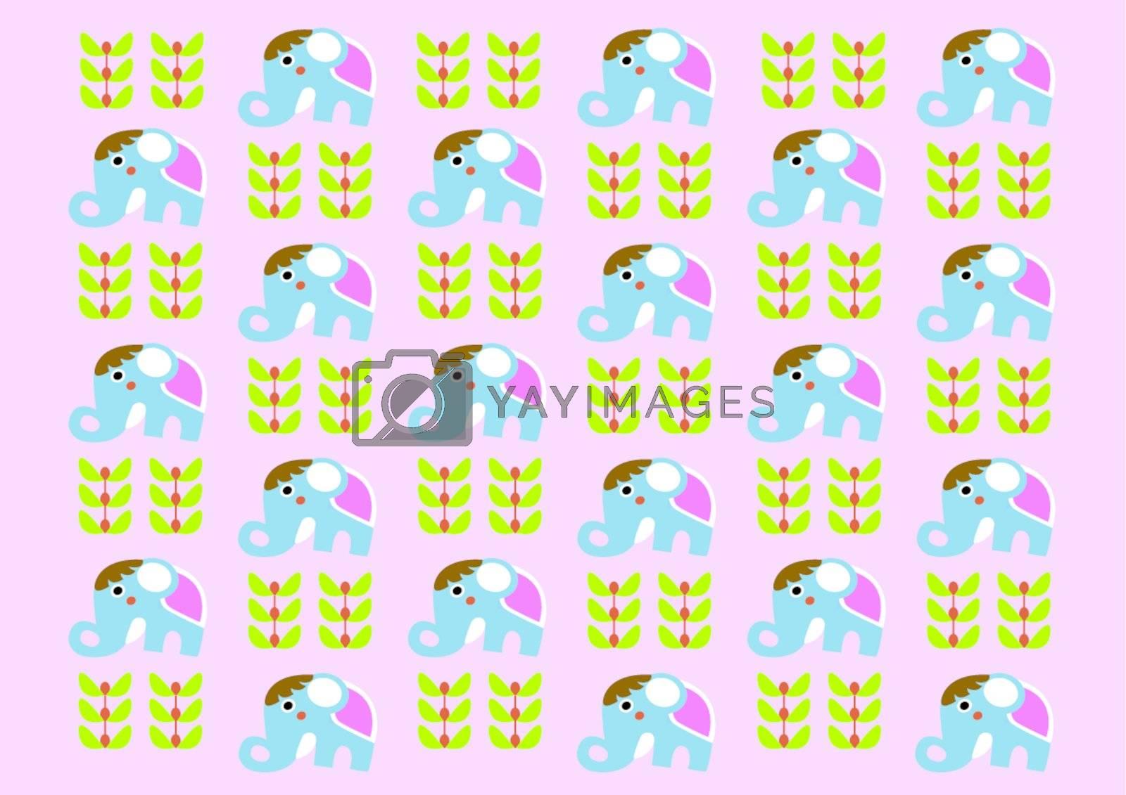 Print Pattern - Elephant Patterns