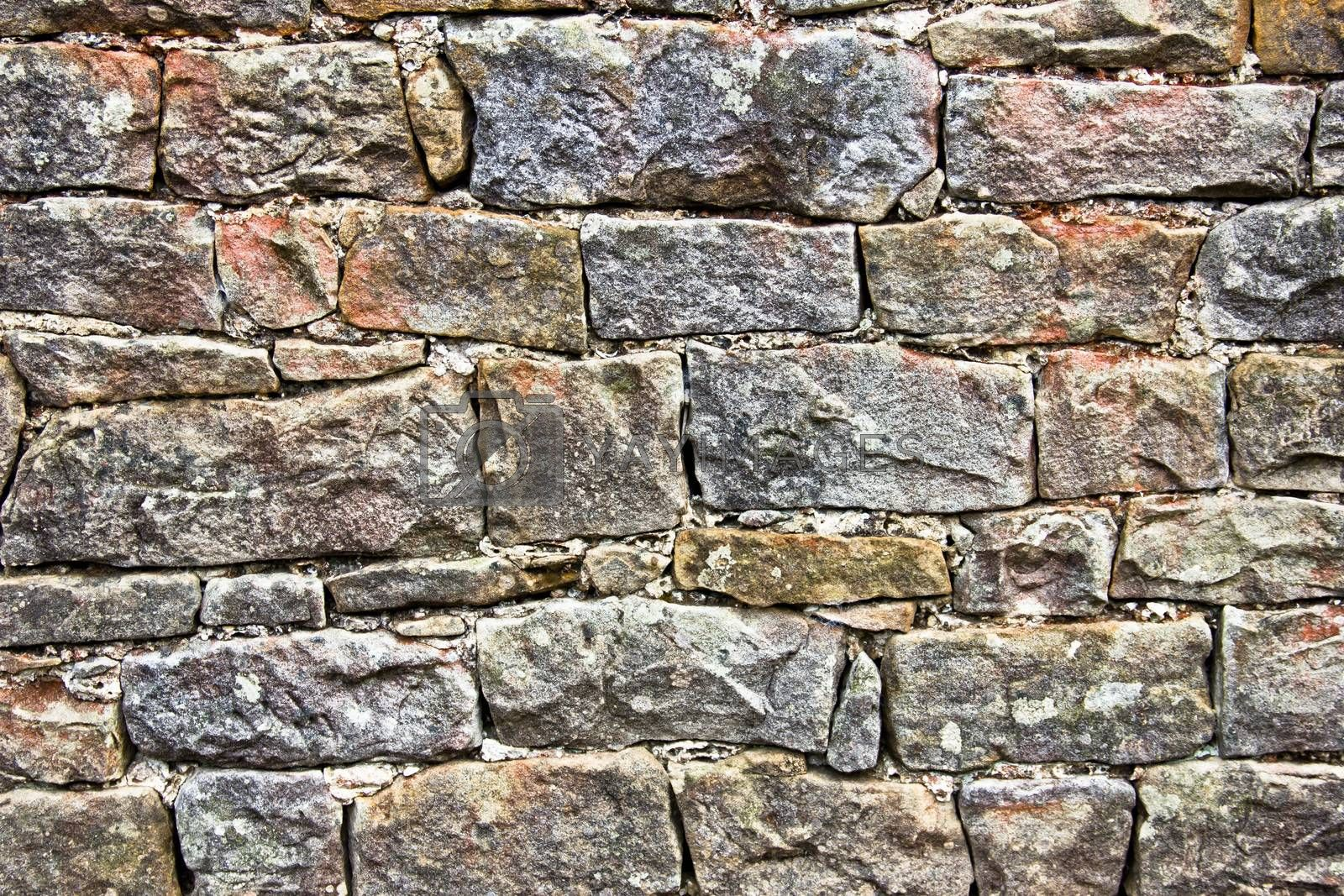stone texture from old wall