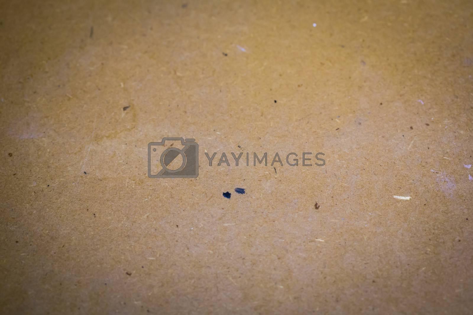 Plain cardboard background. Texture concept