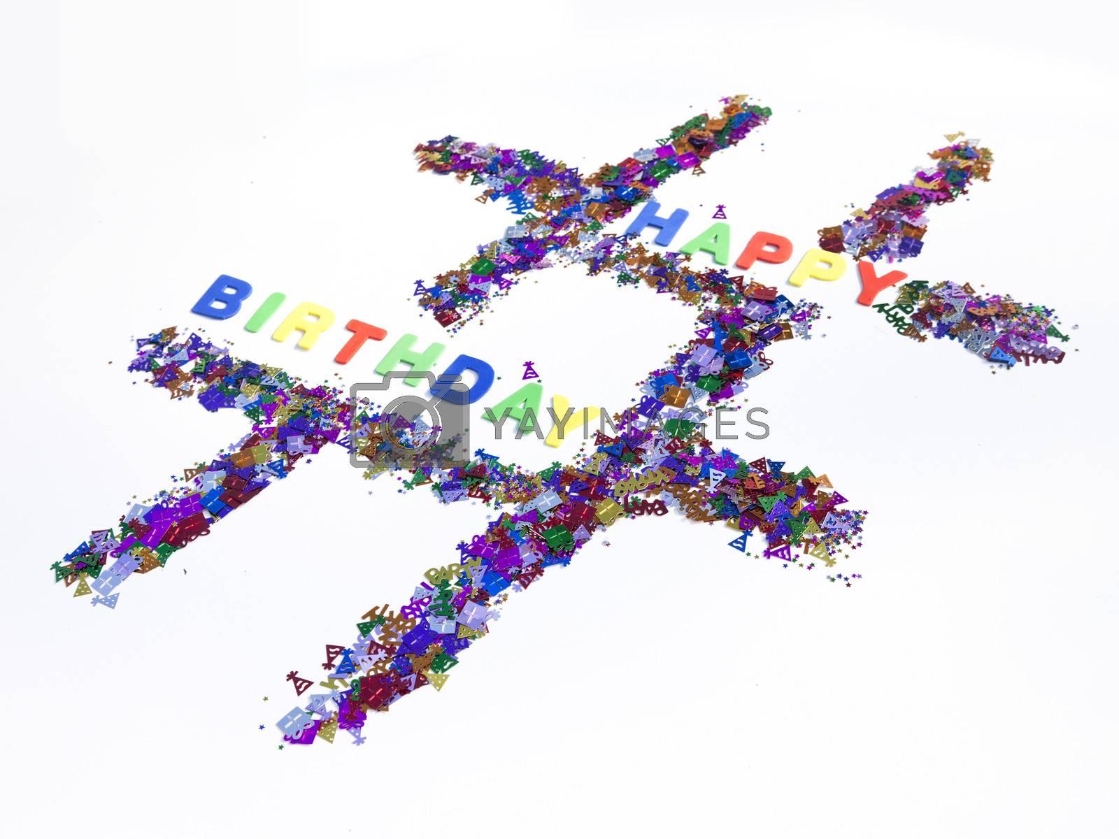 Royalty free image of Happy Birthday Hashtag by mothy20