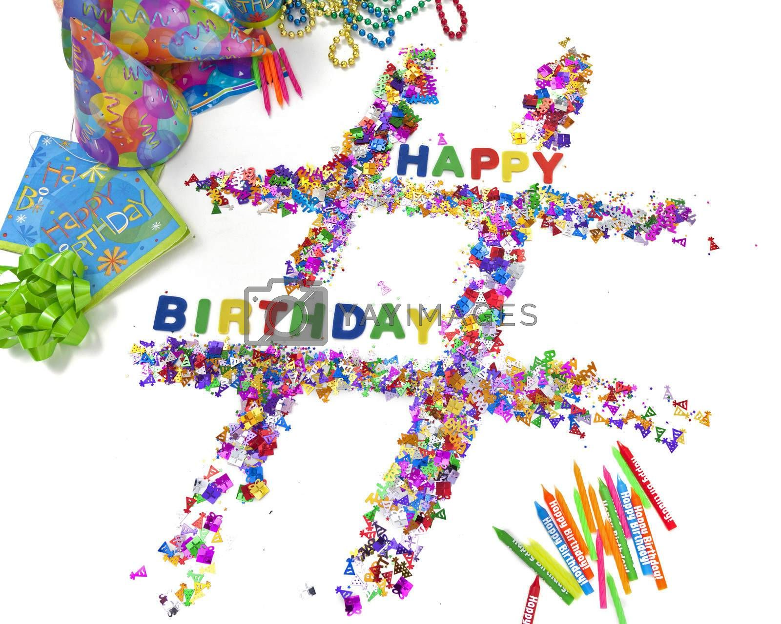 Royalty free image of Birthday Hashtag by mothy20