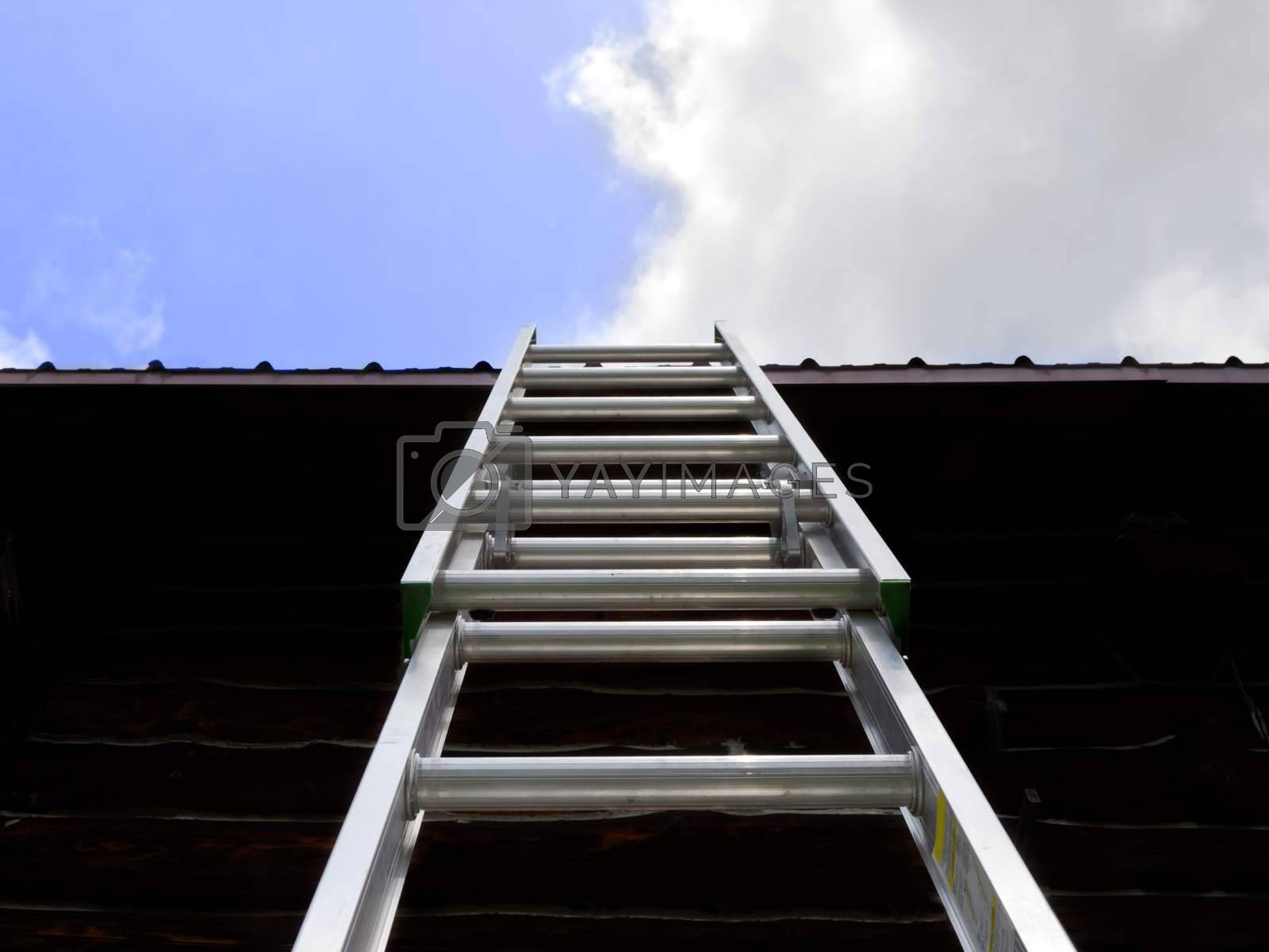 Royalty free image of Ladder to the Sky by mothy20