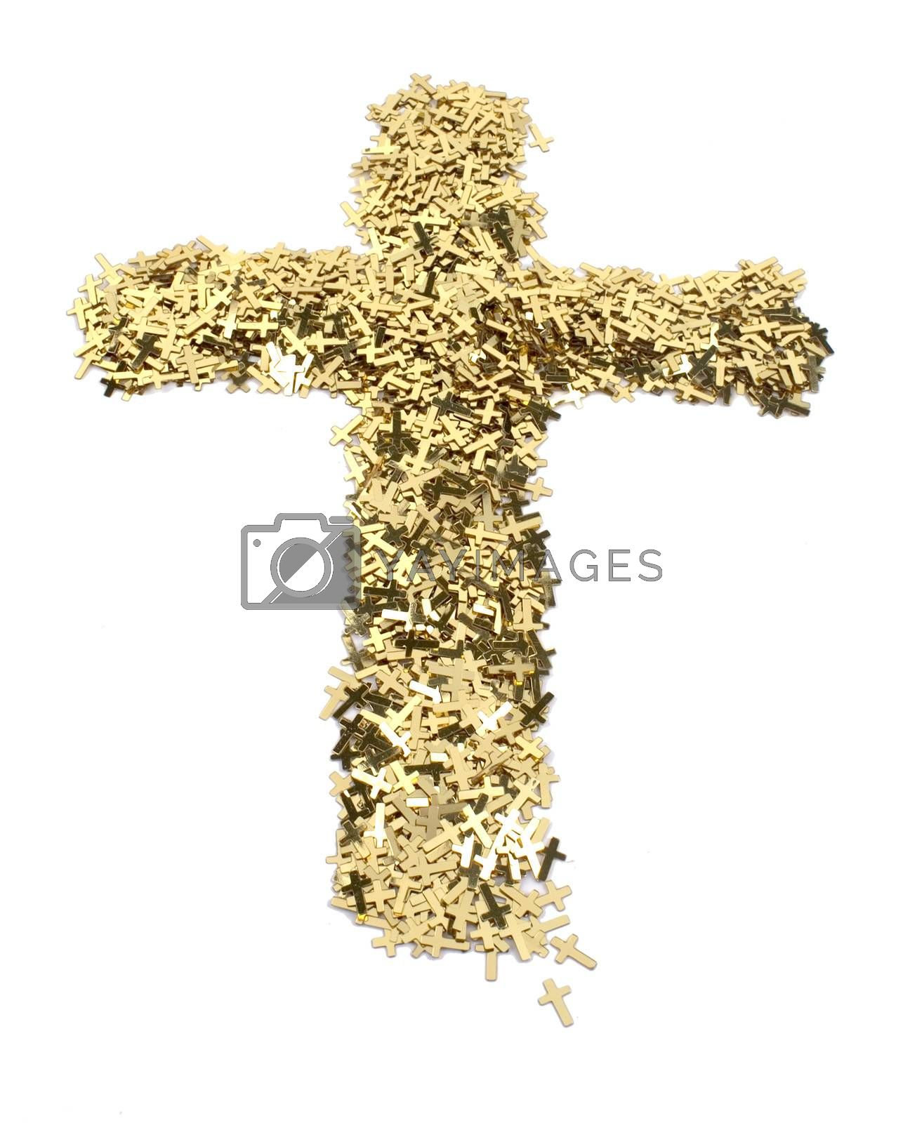 Royalty free image of Golden Cross by mothy20