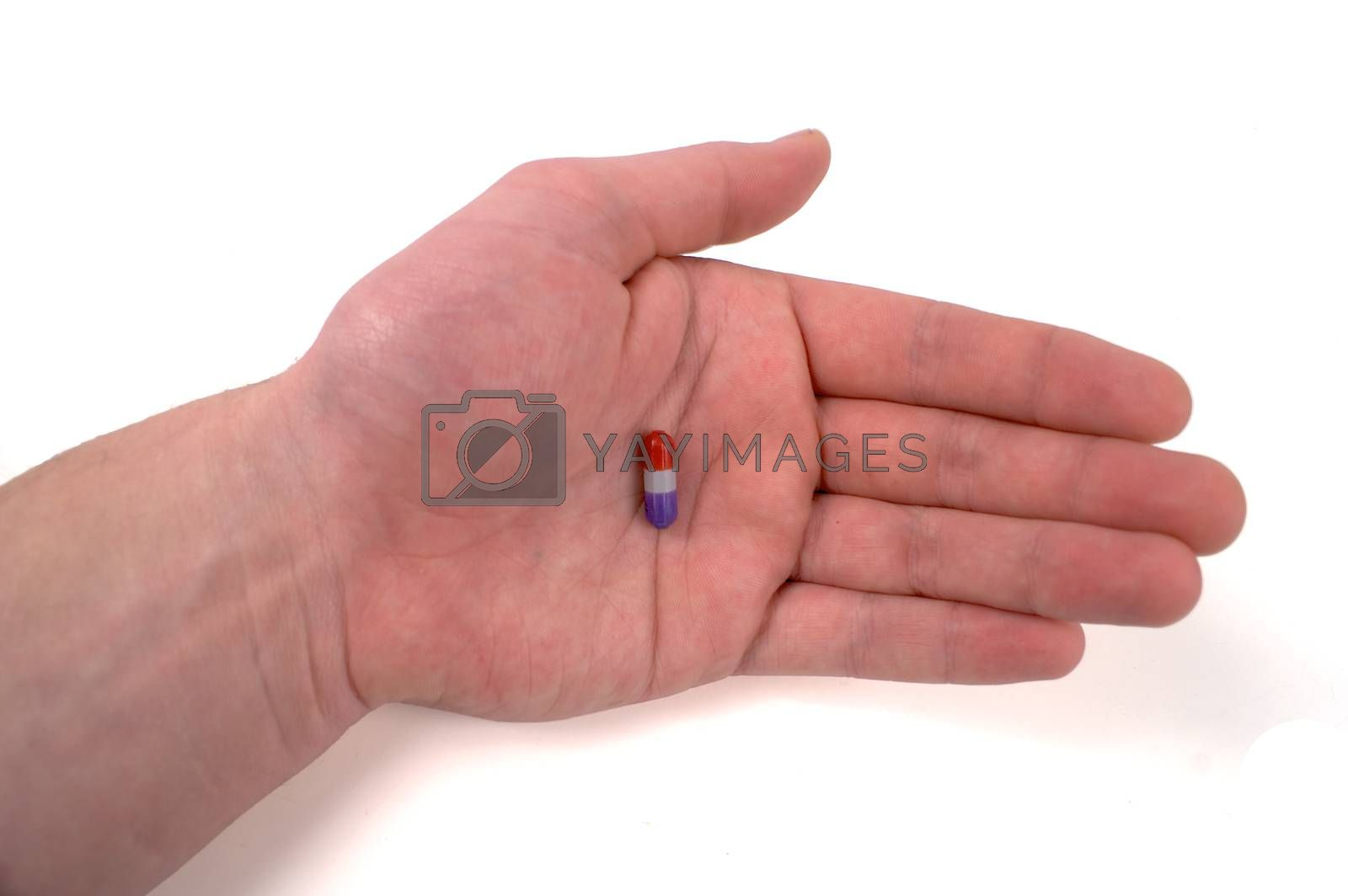 Royalty free image of Pill in the Hand by mothy20
