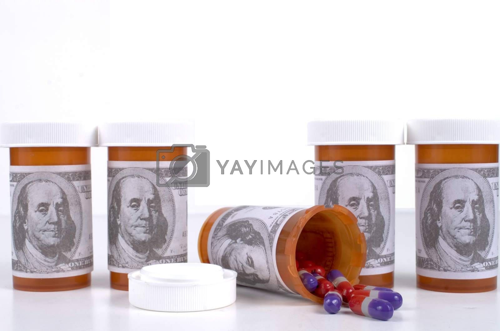 Royalty free image of Expensive Medication by mothy20