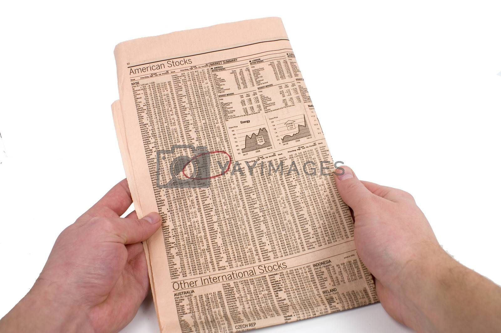 Royalty free image of Newspaper by mothy20