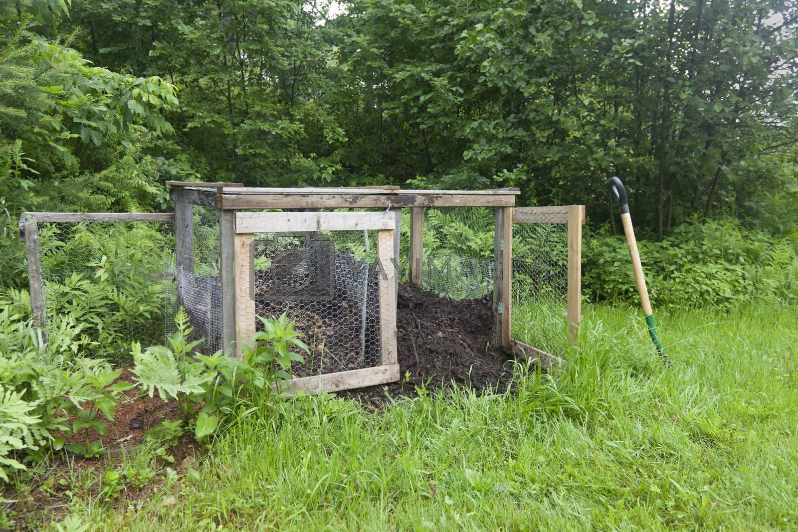 Royalty free image of Rural Compost Bin by mothy20