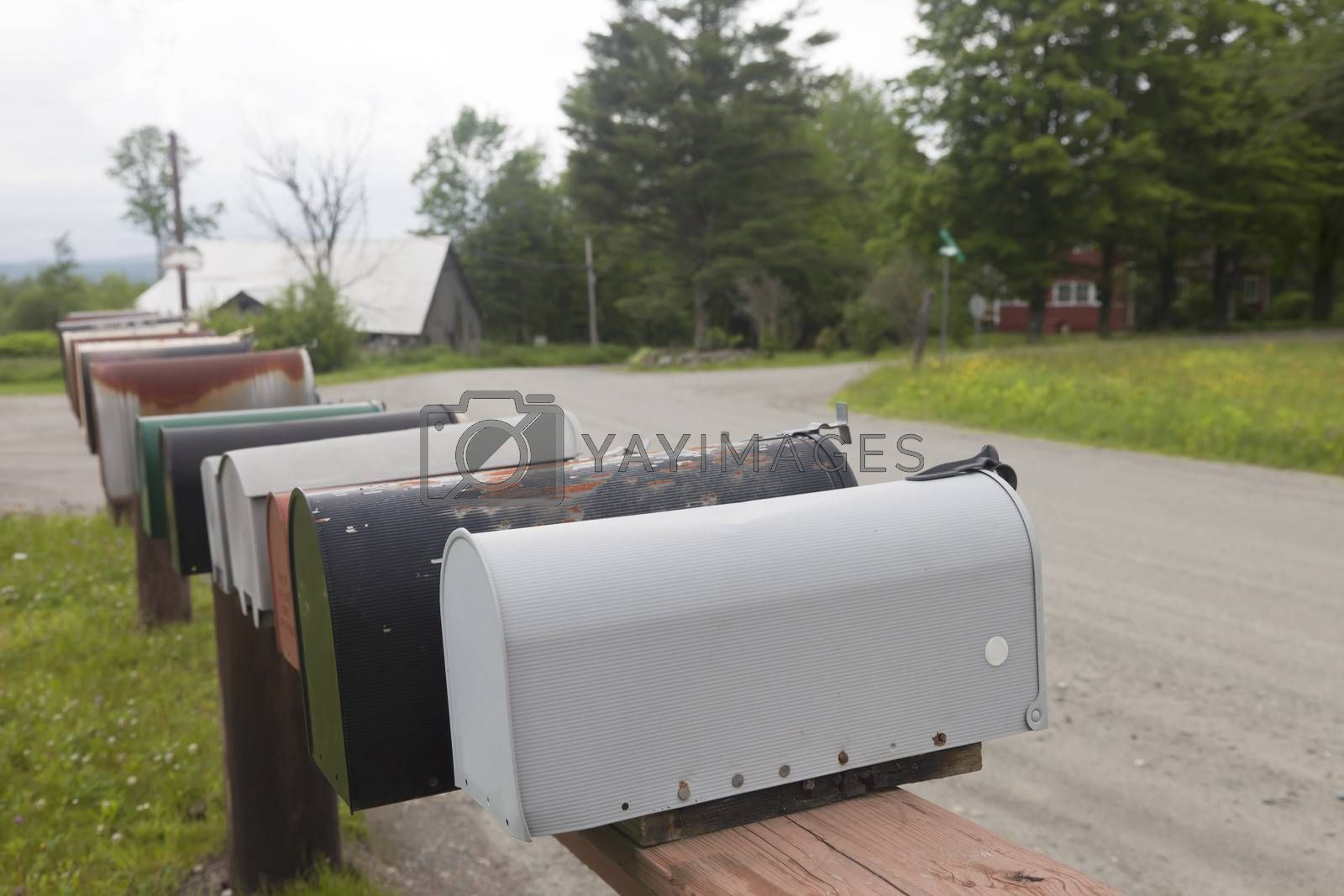 Royalty free image of Rural Mailboxes by mothy20
