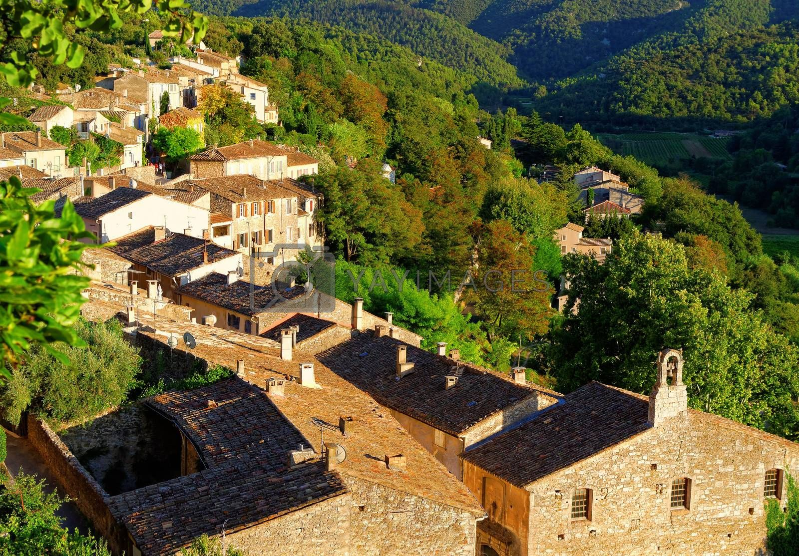 village in the south of france