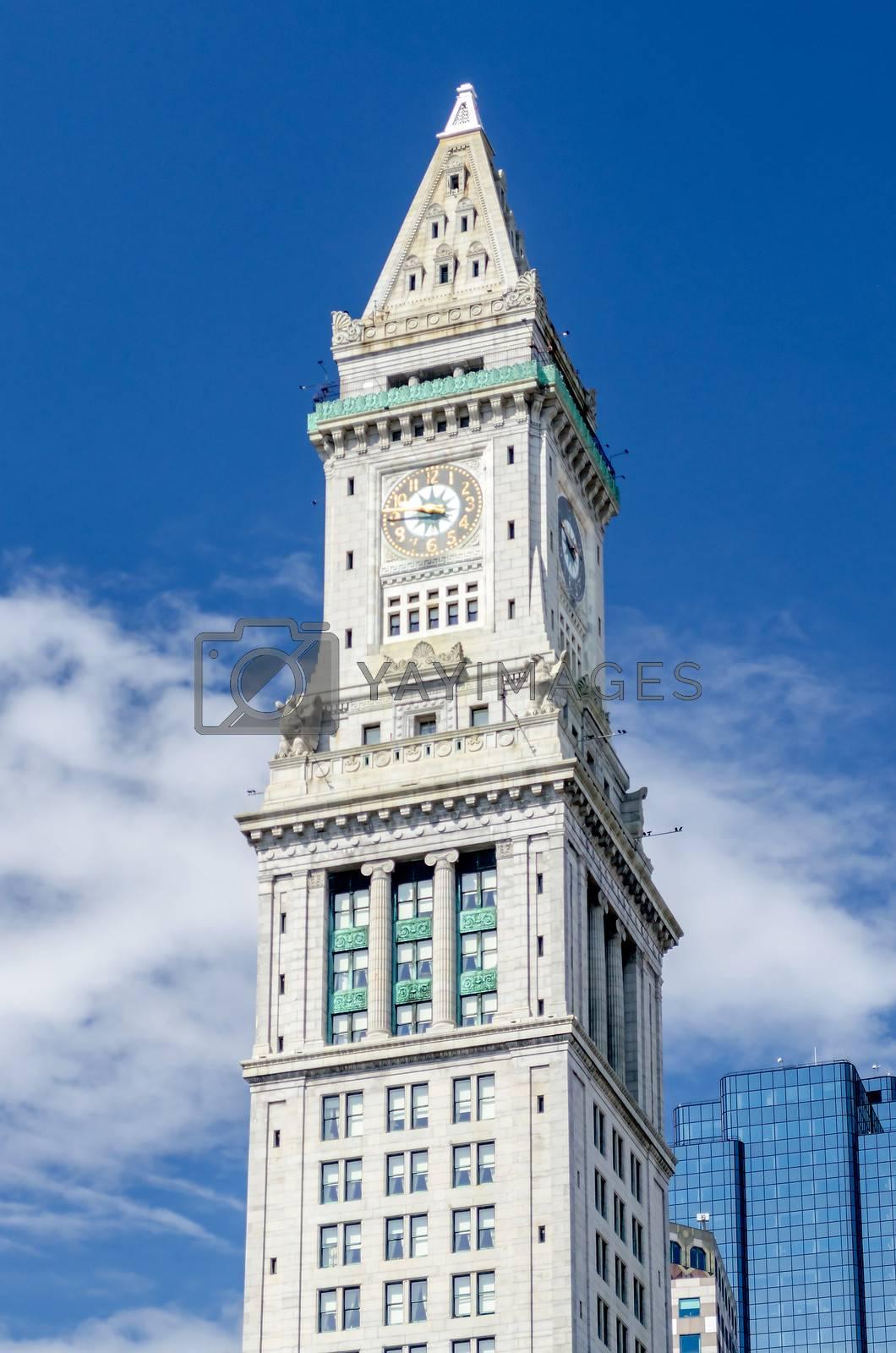 Custom House Tower, Boston by Marco Rubino