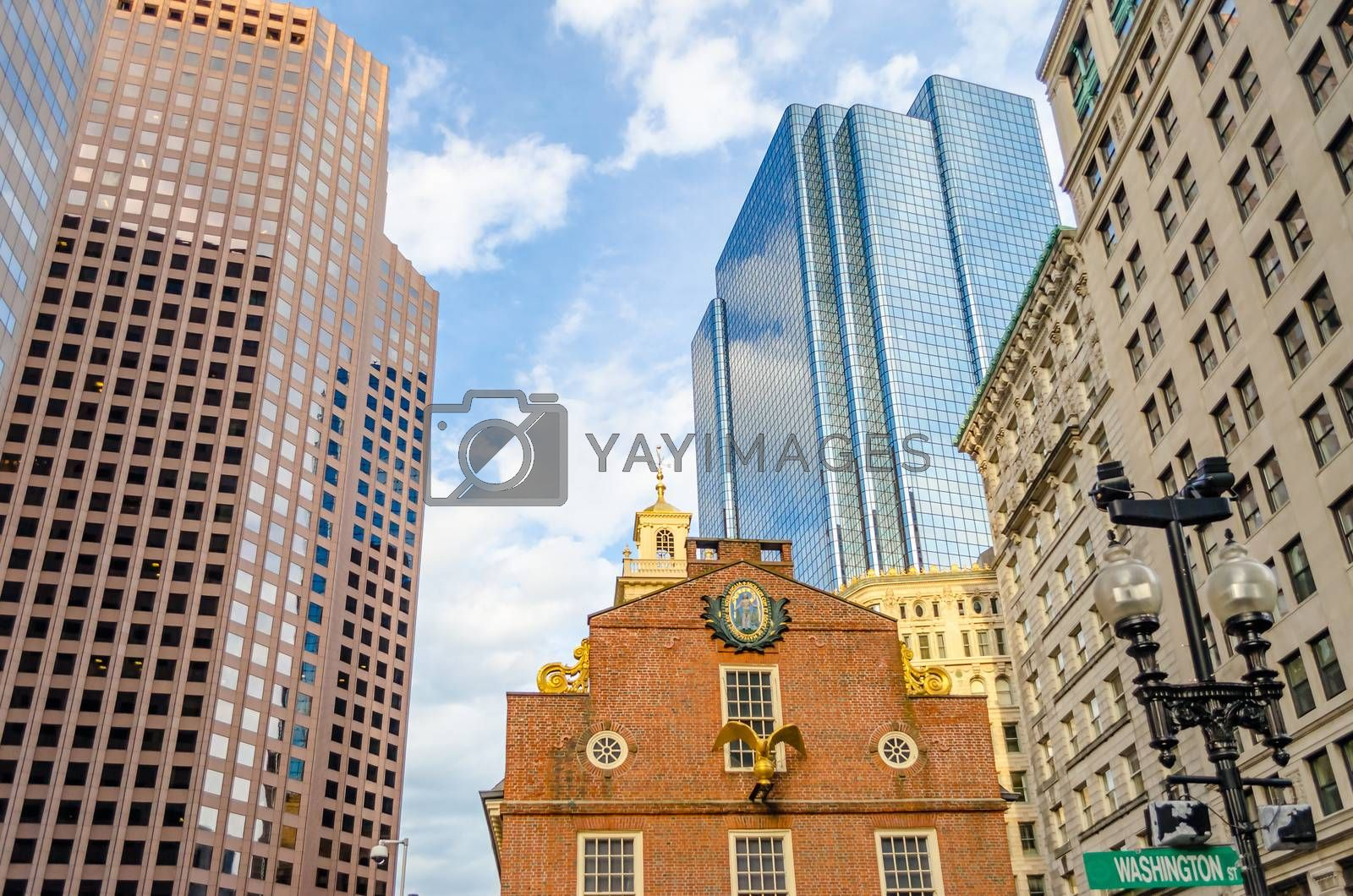 Old State House, Boston by Marco Rubino