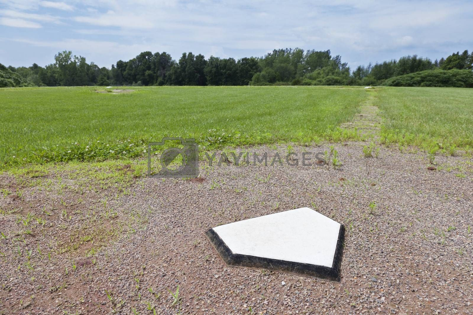 Royalty free image of Rural Home Plate by mothy20