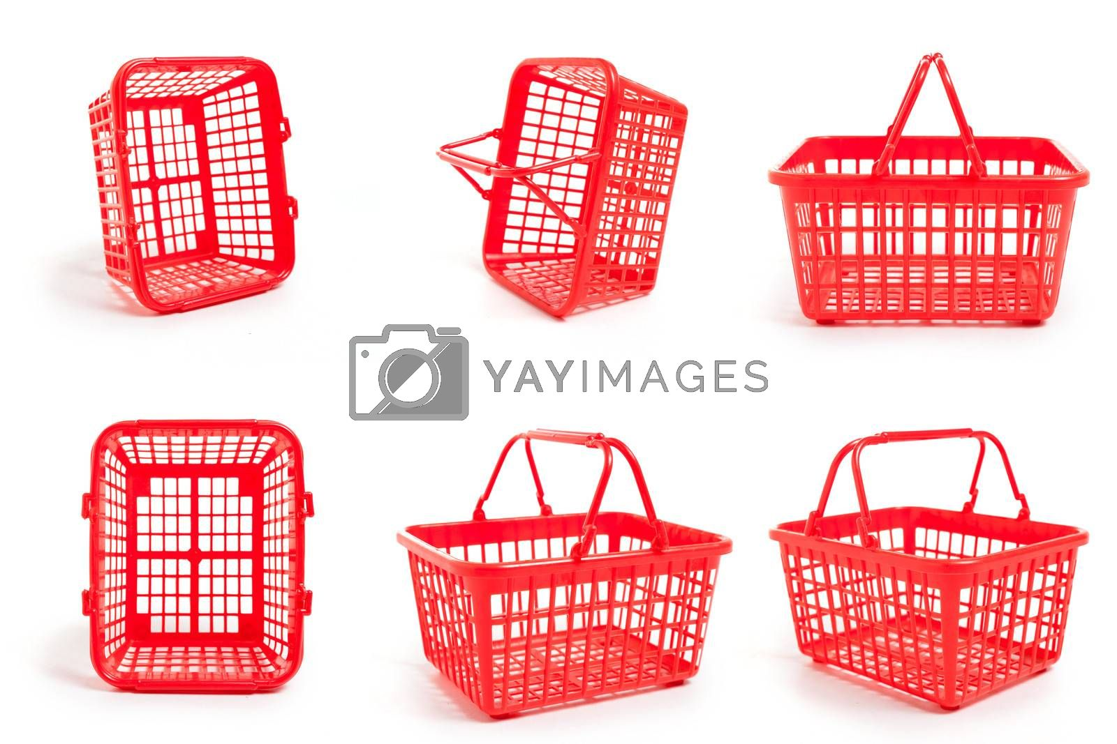 Royalty free image of Empty Shopping Baskets by mothy20