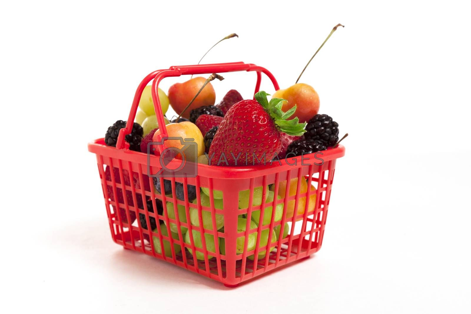 Royalty free image of Oversized Fruits and Berries by mothy20