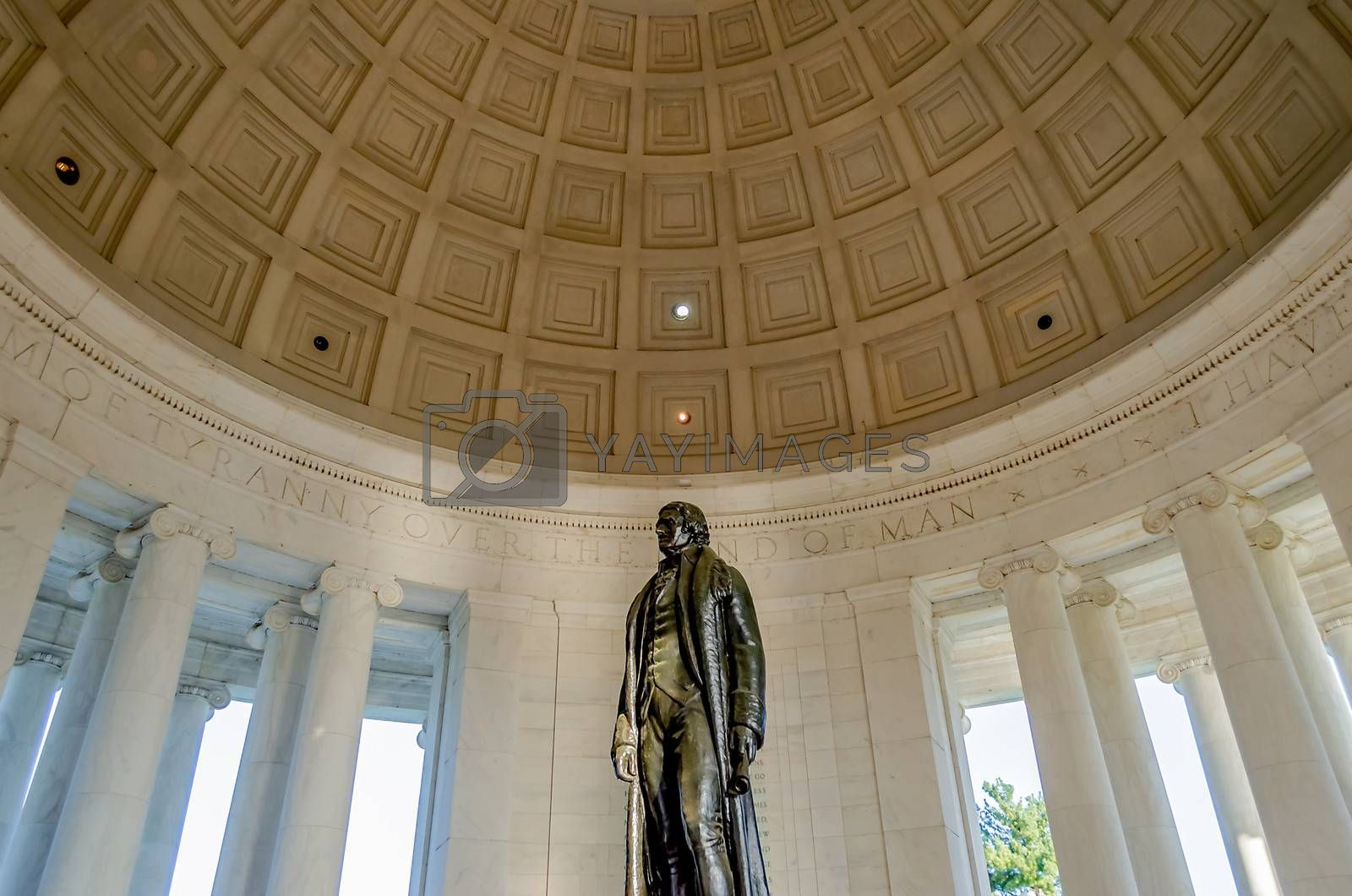 Thomas Jefferson Memorial,  in Washington DC USA