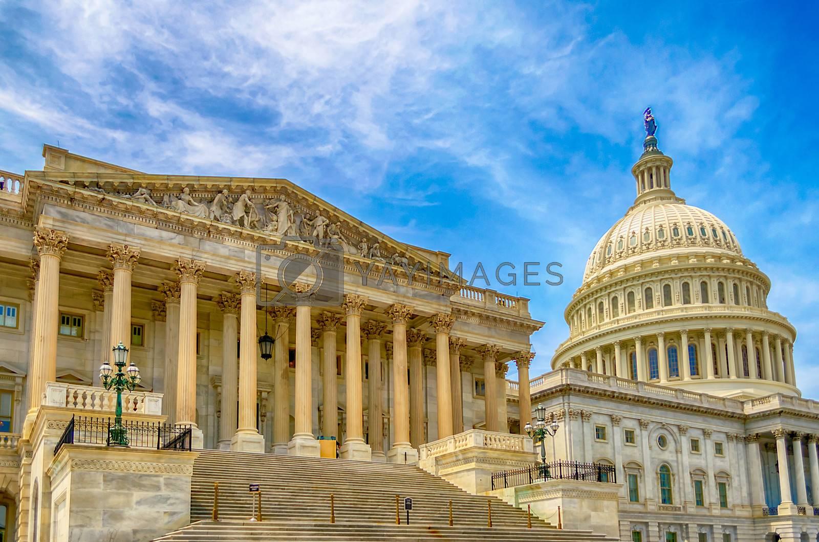 United States Capitol building, Washington DC, USA