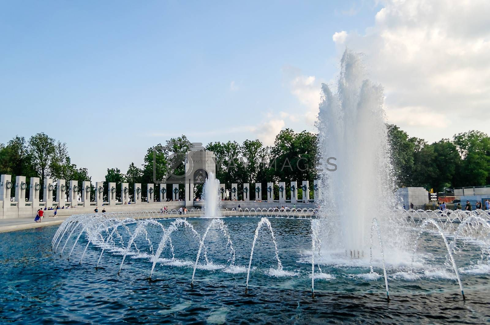 World War II Memorial in Washington DC, USA