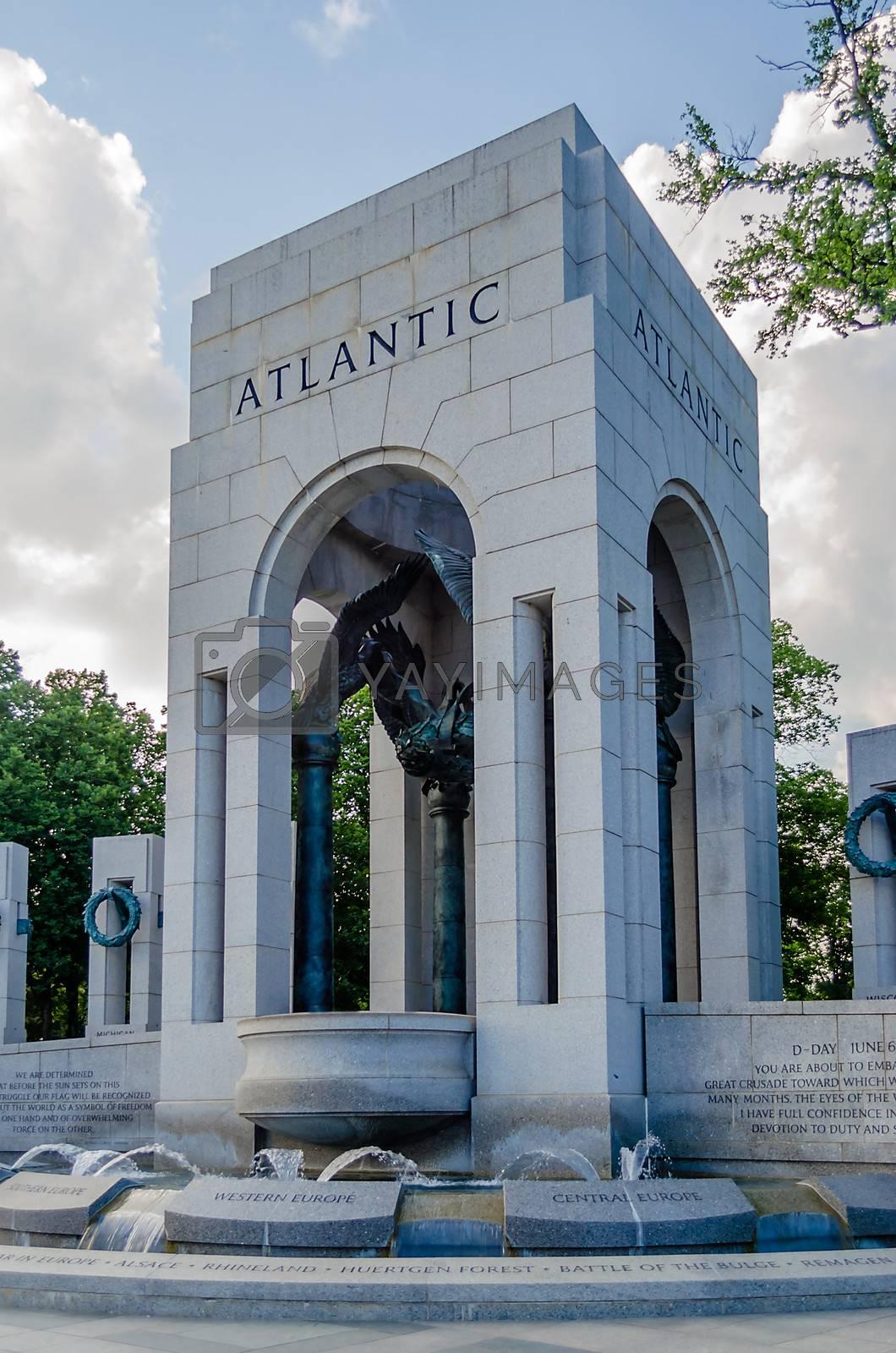 World War II Memorial in Washington DC, USA