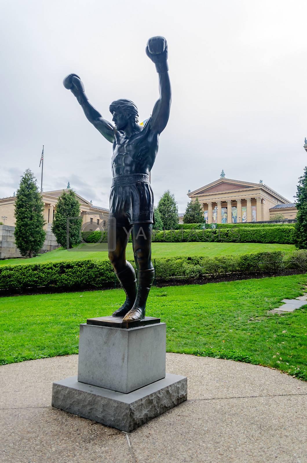 Rocky Statue in Philadelphia, USA