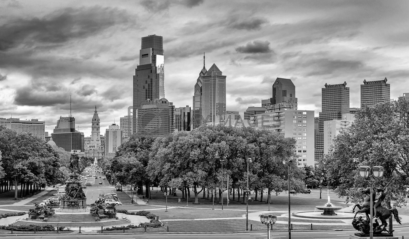 Philadelphia Skyline, daylight