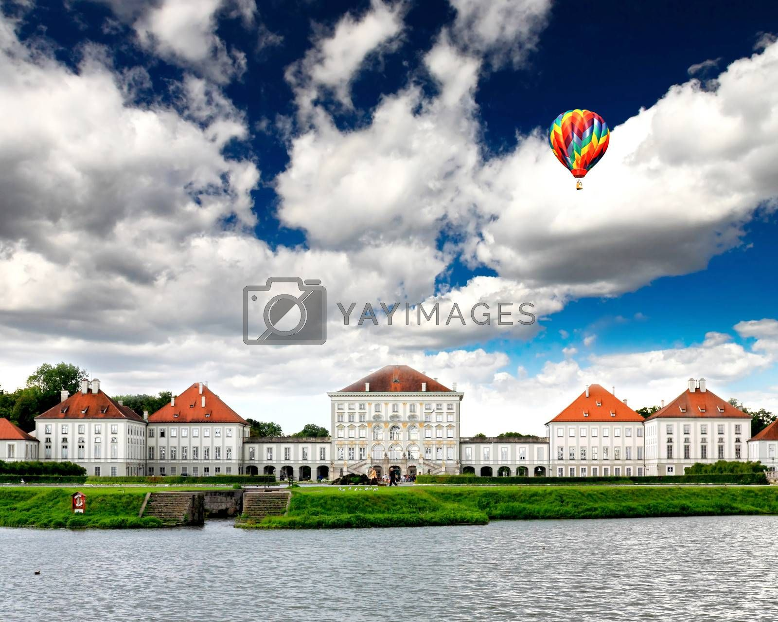 The Nymphenburg Palace in Munich Germany