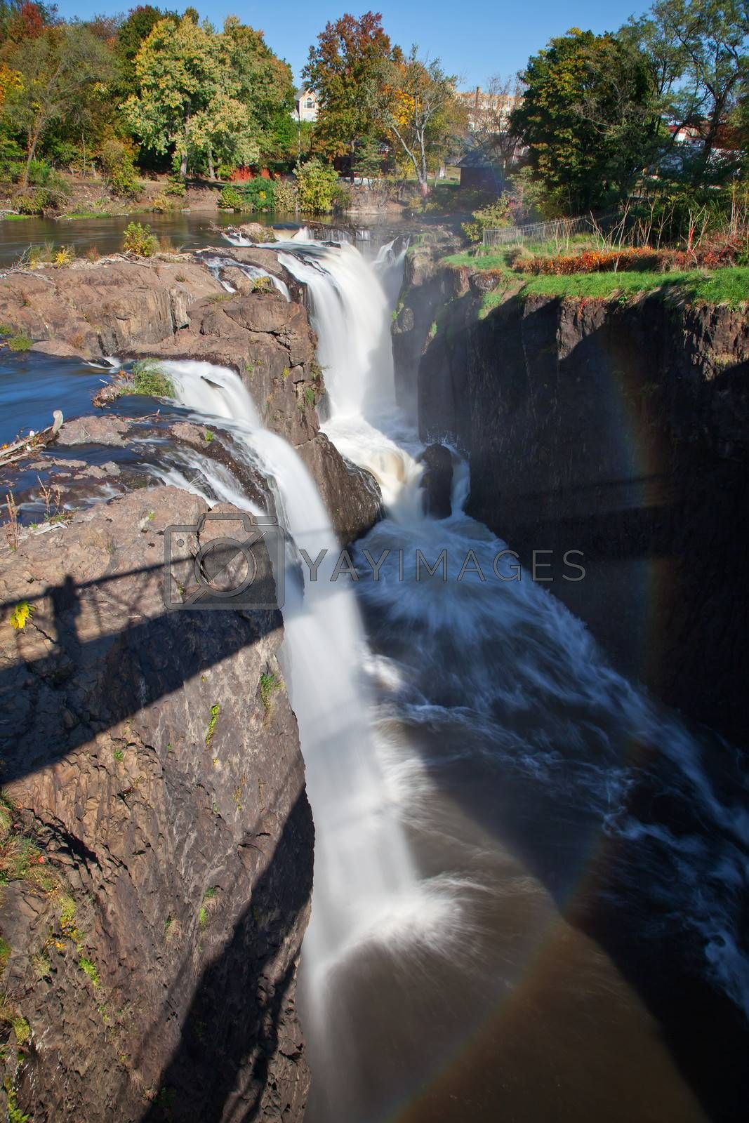 The Great Falls in Paterson, New Jersey