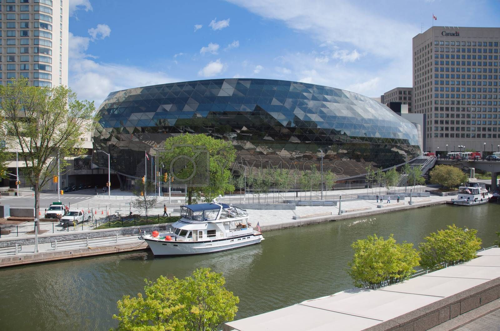 The Convention Centre in Ottawa, Ontario, Canada.