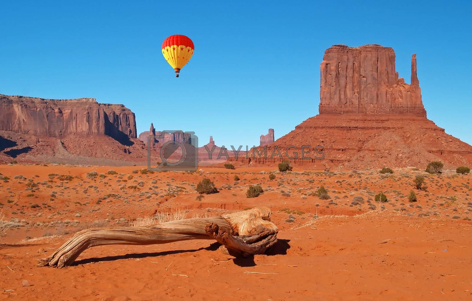 Monument Valley Navajo Tribal Park in Utah